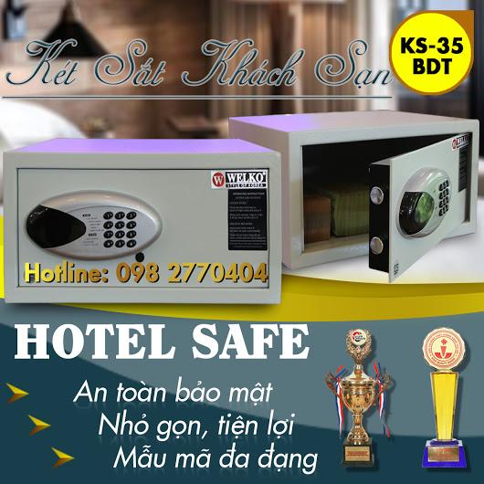 Két Sắt Khách Sạn HS35 BDT White