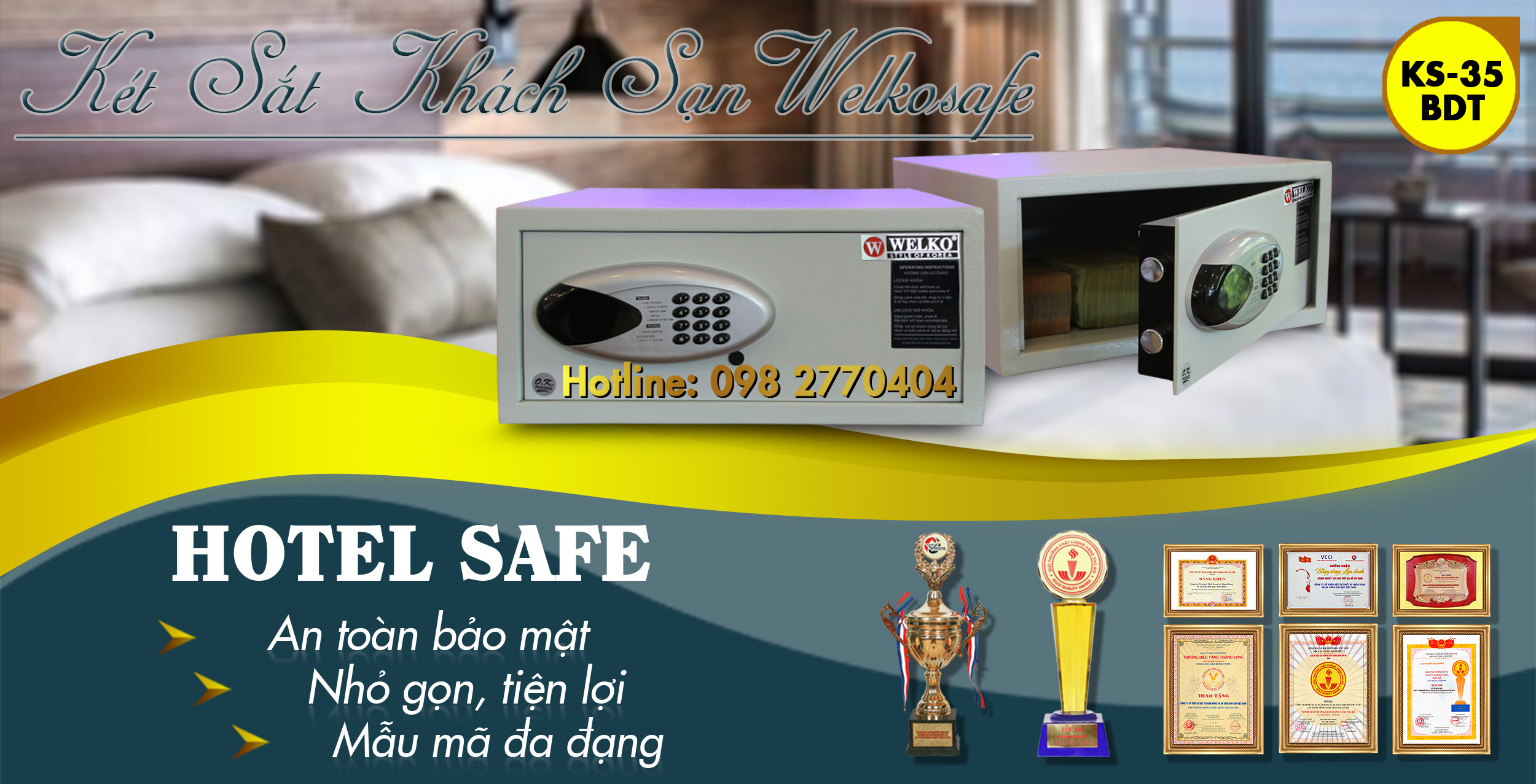 digital hotel safe locker for