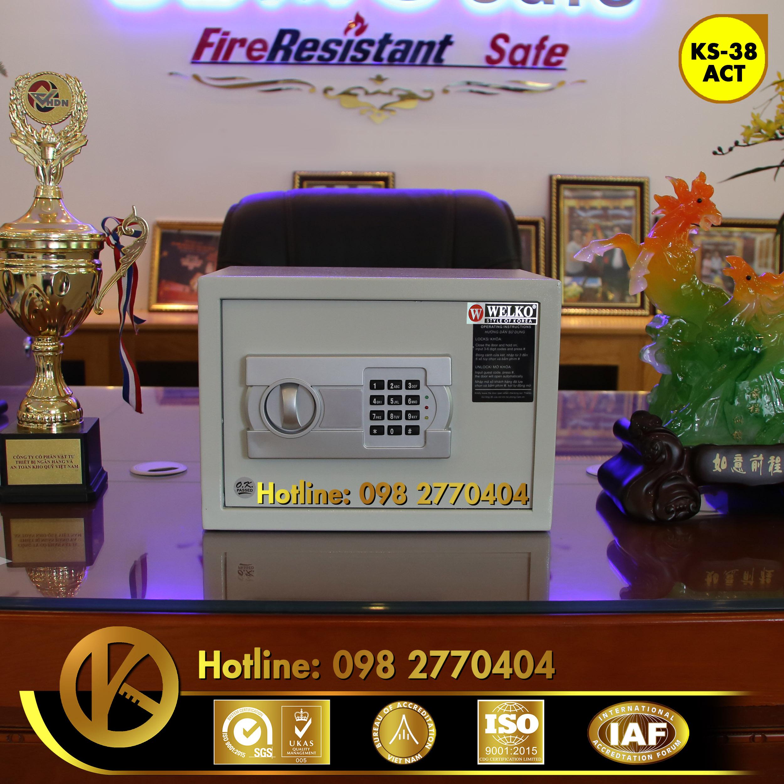 thanh lý két sắt khách sạn mini giá rẻ tại hà nội
