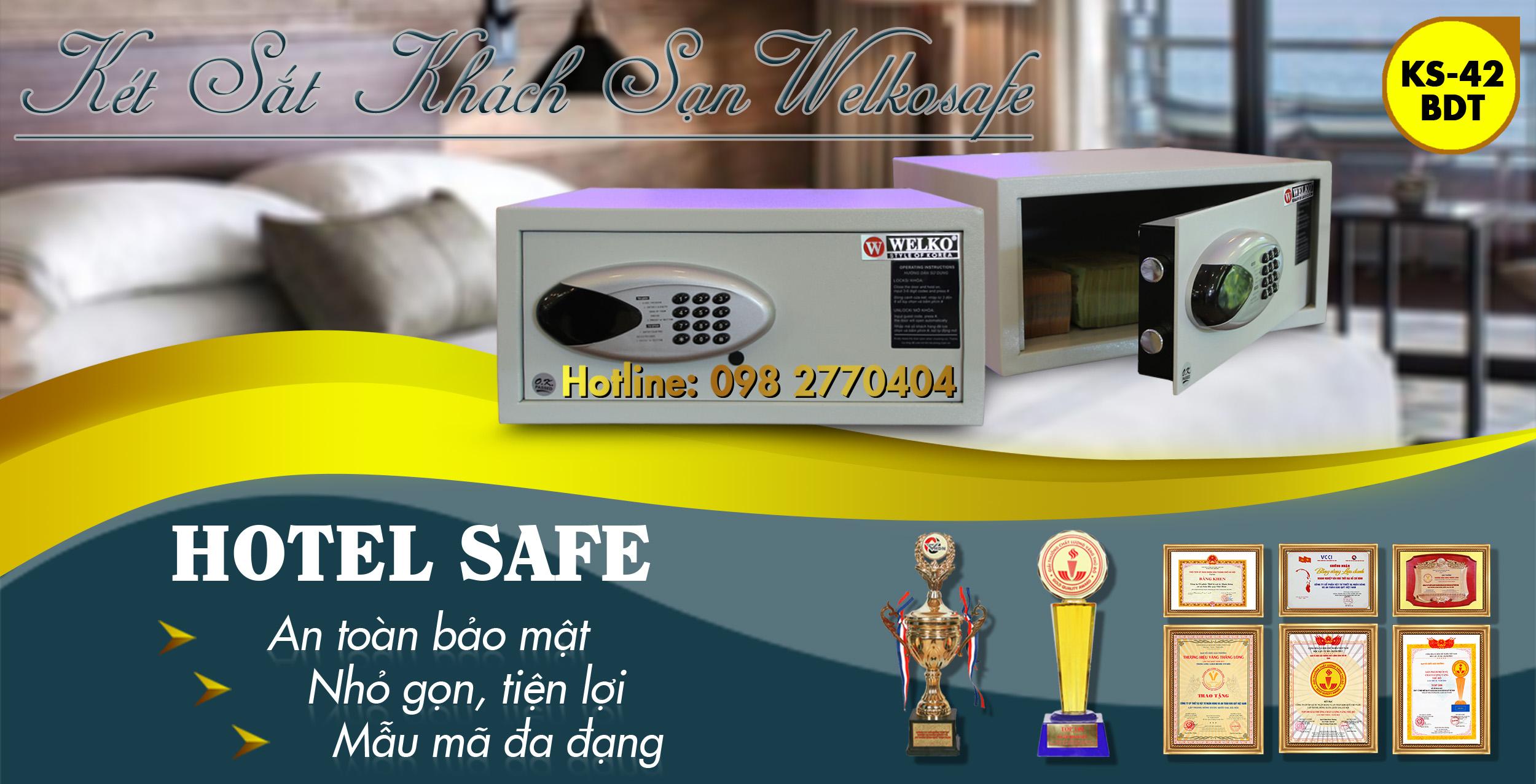 hình ảnh sản phẩm két sắt khách sạn hs25 d key