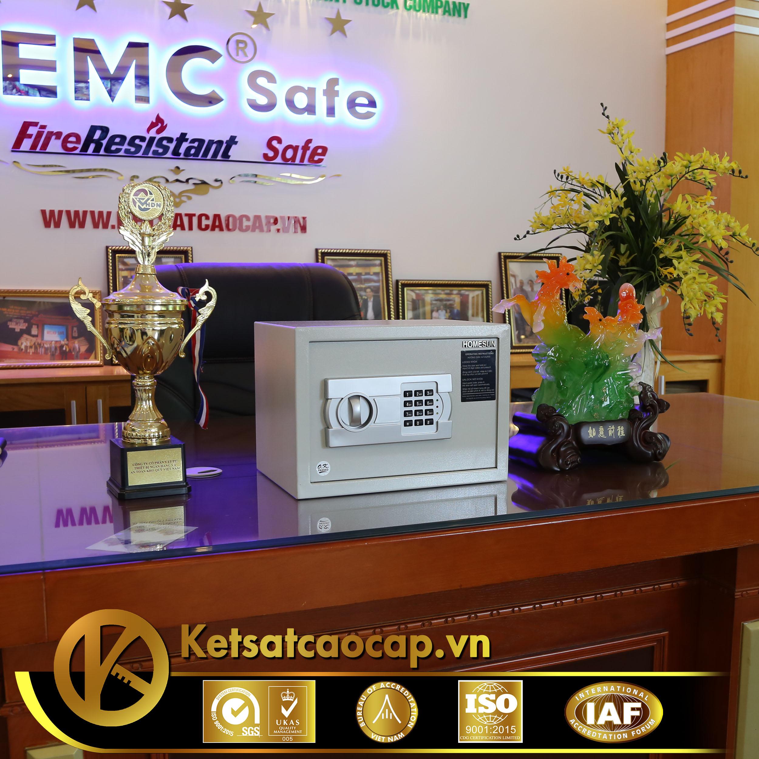 đặc điểm sản phẩm Két sắt khách sạn cao cấp KS25-ACT