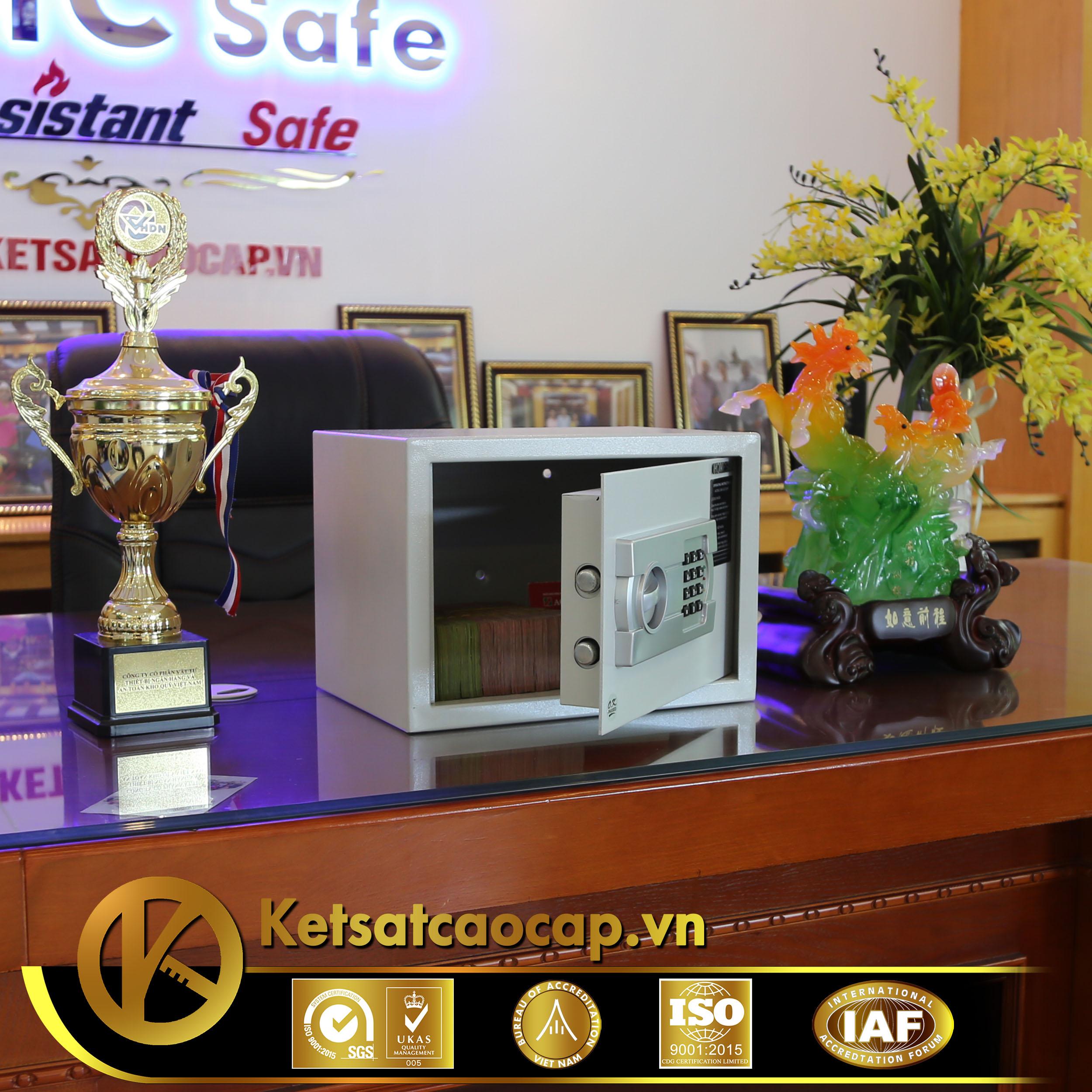 đặc điểm sản phẩm Két sắt khách sạn cao cấp KS35-ACT
