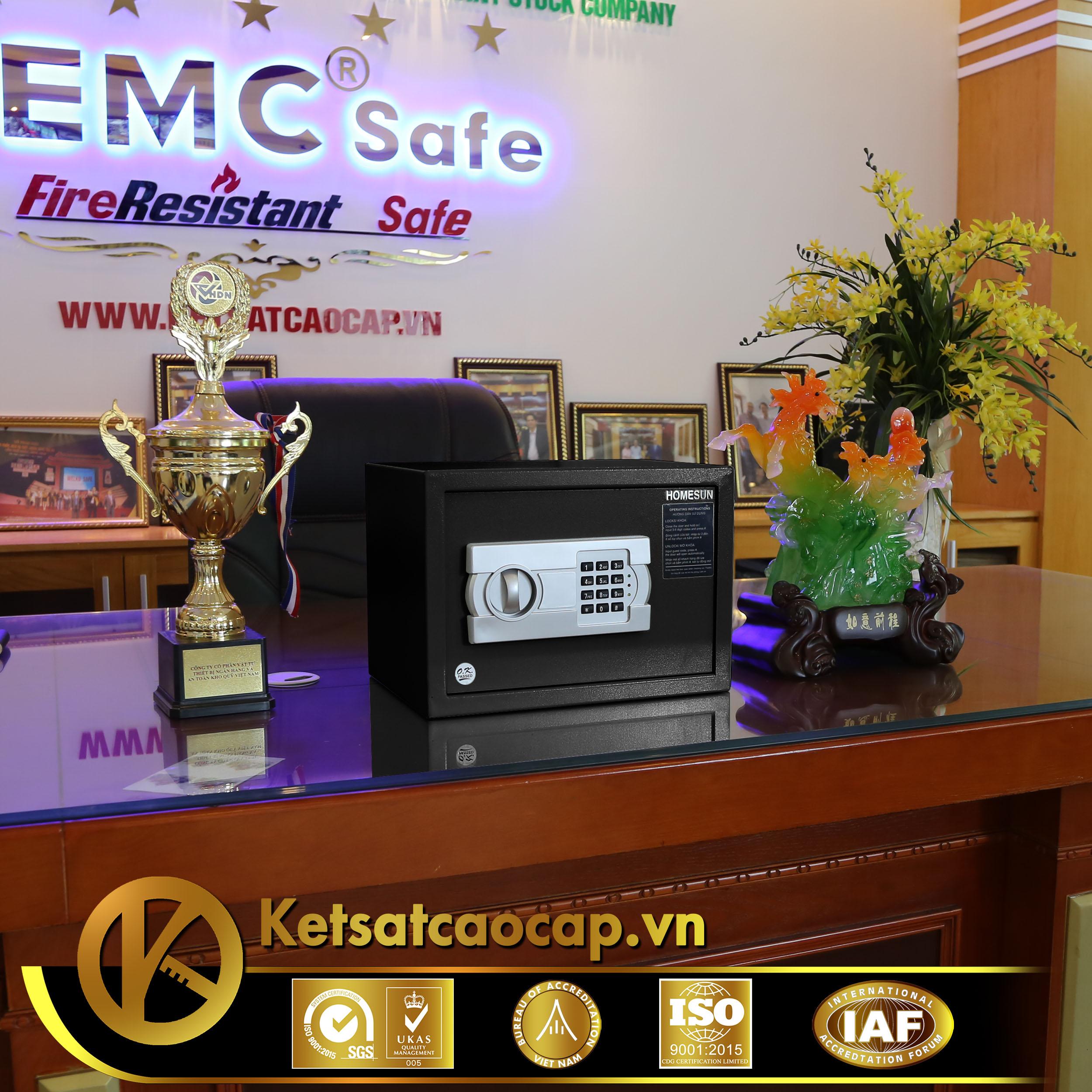 nhà cung cấp két sắt khách sạn căn hộ Condotel Phú Quốc WELKO Safe