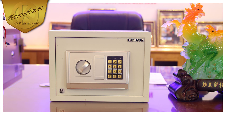 hình ảnh sản phẩm Két sắt khách sạn cao cấp KS421-ACT VUÔNG