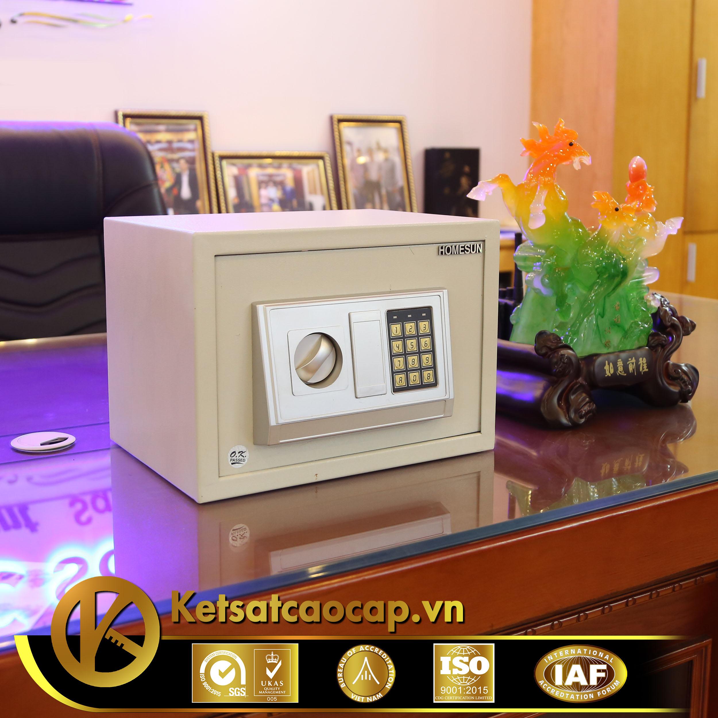 đặc điểm sản phẩm Két sắt khách sạn cao cấp KS421-ACT VUÔNG