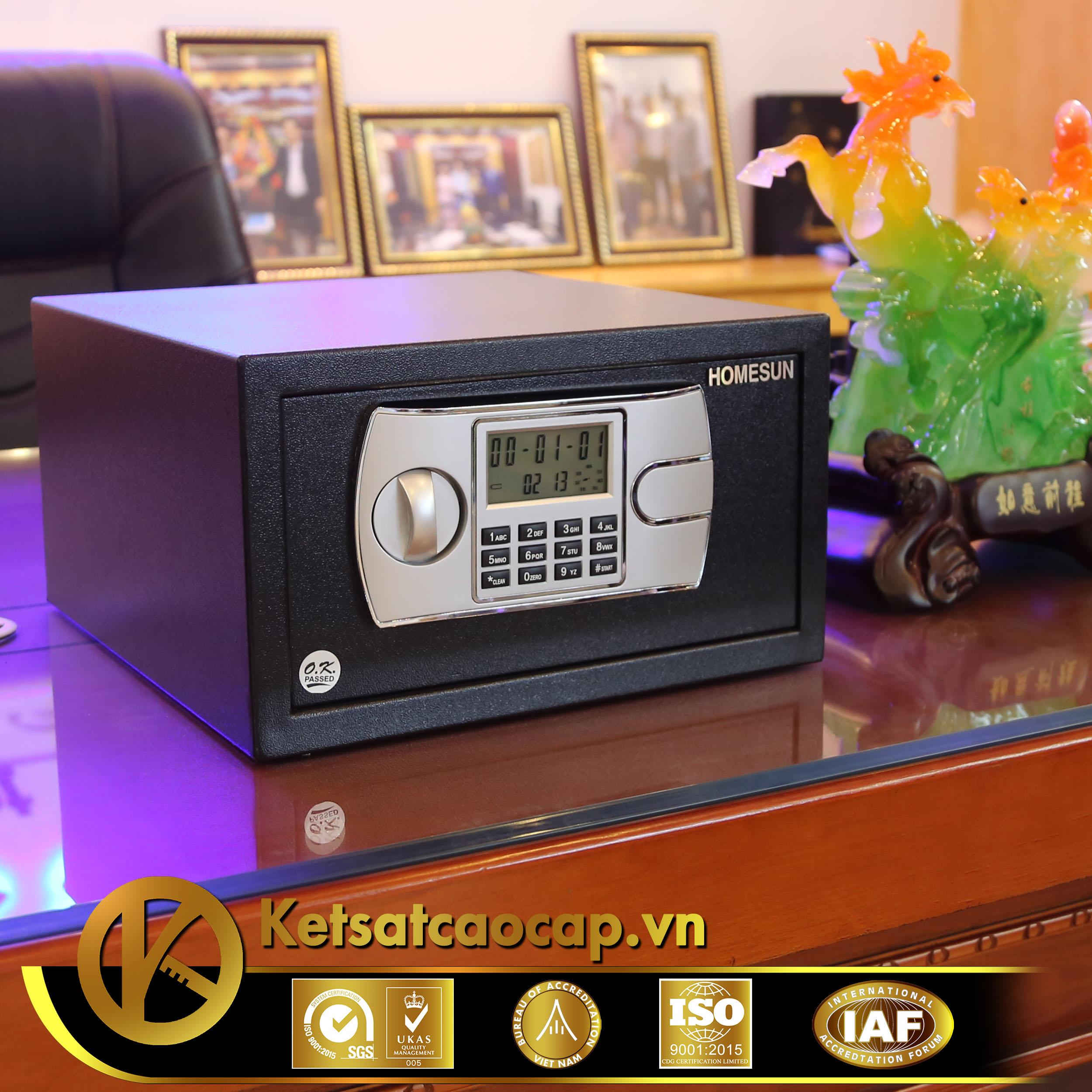 nhà cung cấp két sắt khách sạn Resort Hà Tĩnh WELKO Hotel Safe