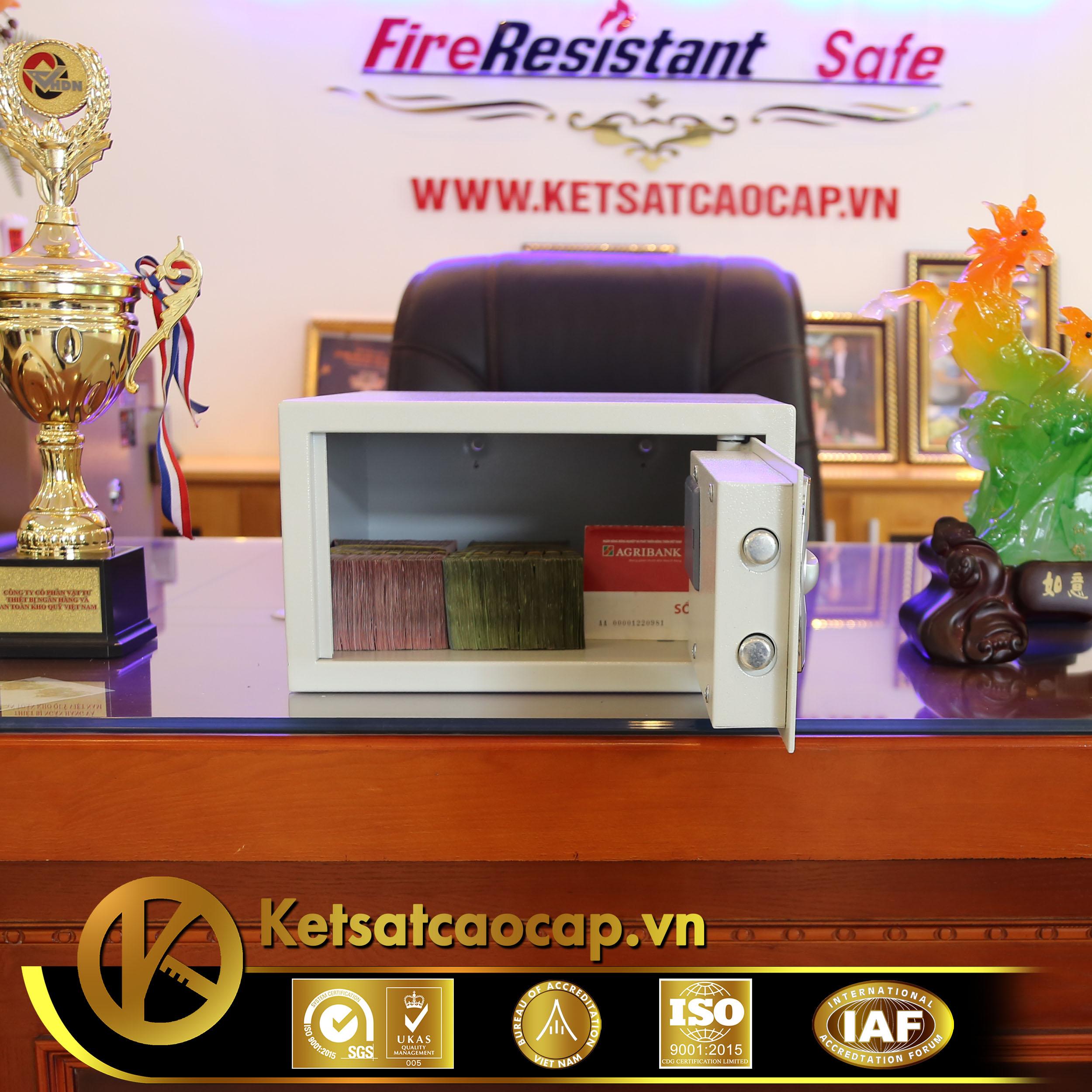 đặc điểm sản phẩm Két sắt khách sạn KS38-EKT
