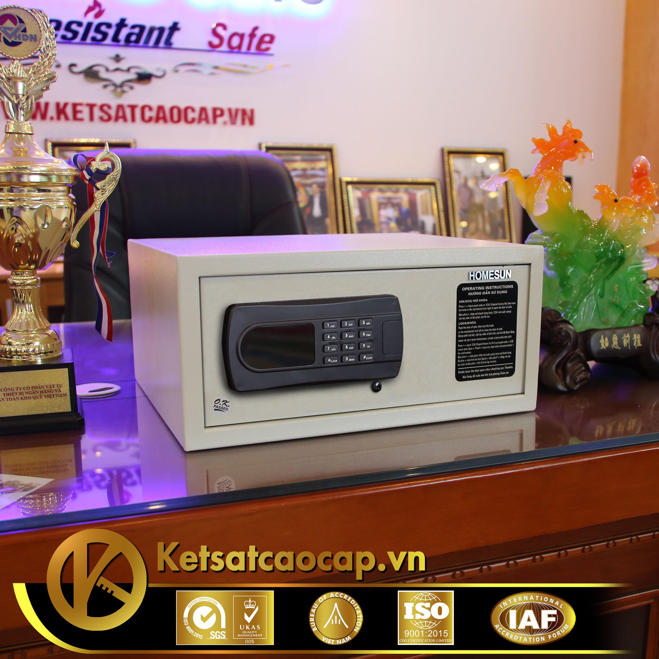 nhà cung cấp két sắt khách sạn Condotel Đà Nẵng WELKO Hotel Safe