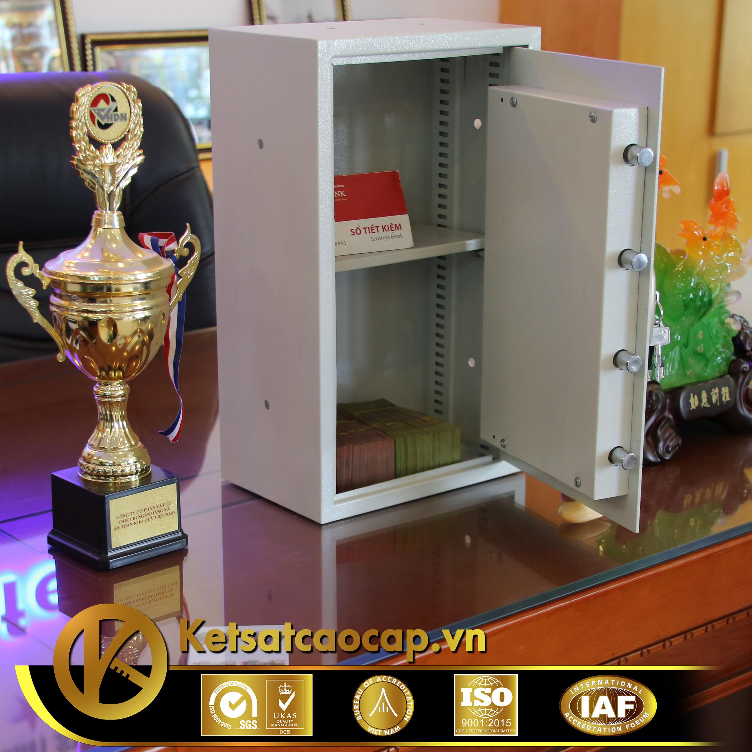 đặc điểm sản phẩm Két sắt khách sạn cao cấp KS50 ÂM TƯỜNG