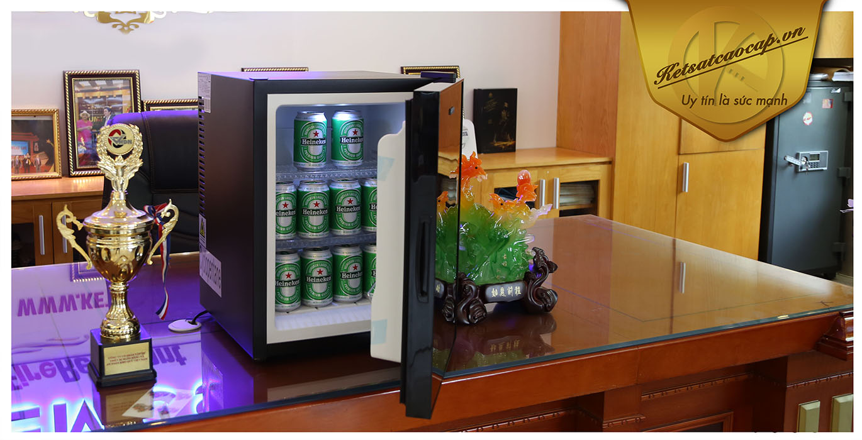 hình ảnh sản phẩm Tủ Mát MiniBar Cánh Kính MB40-CK