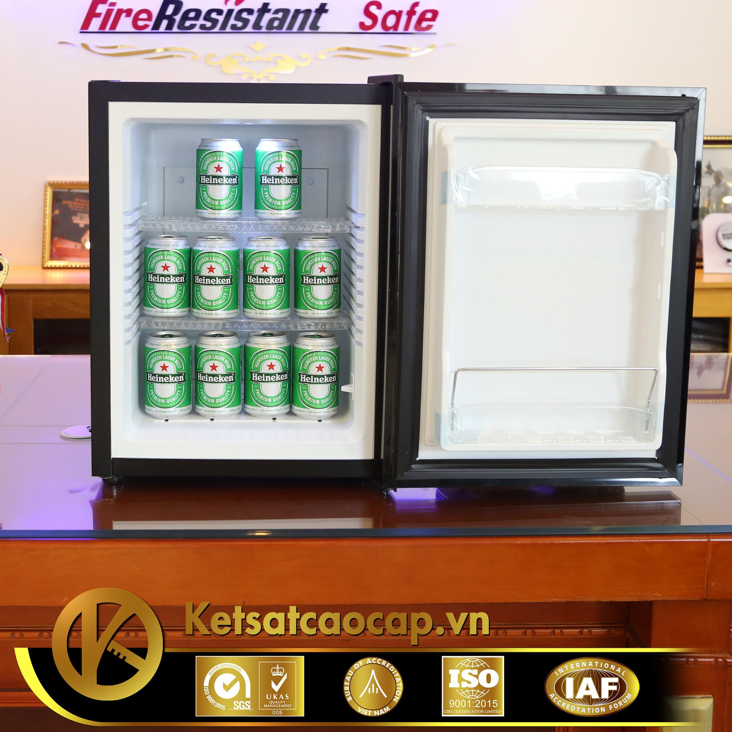 đặc điểm sản phẩm Tủ mát khách sạn cao cấp Minibar