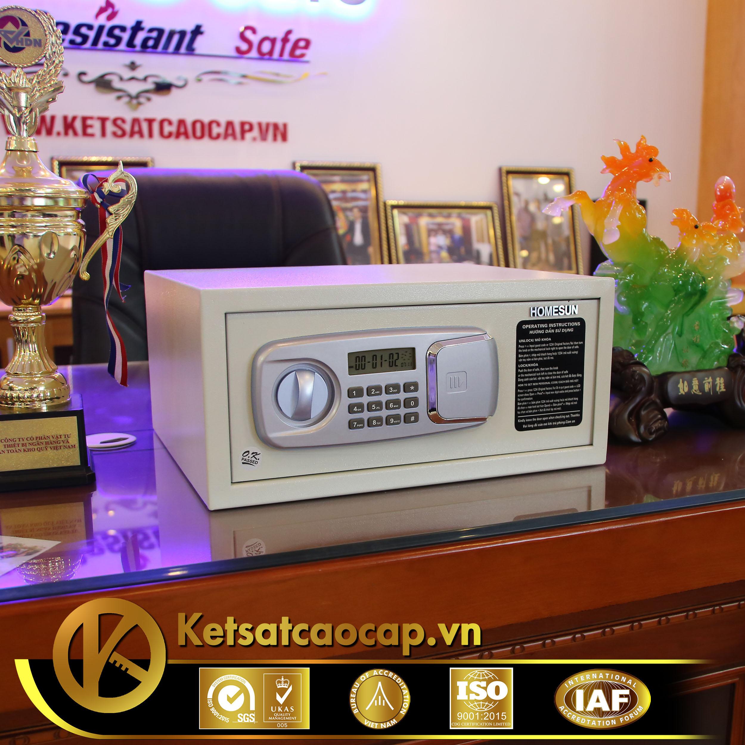 cửa hàng bán két sắt khách sạn Hotel safe cao cấp Phú Quốc