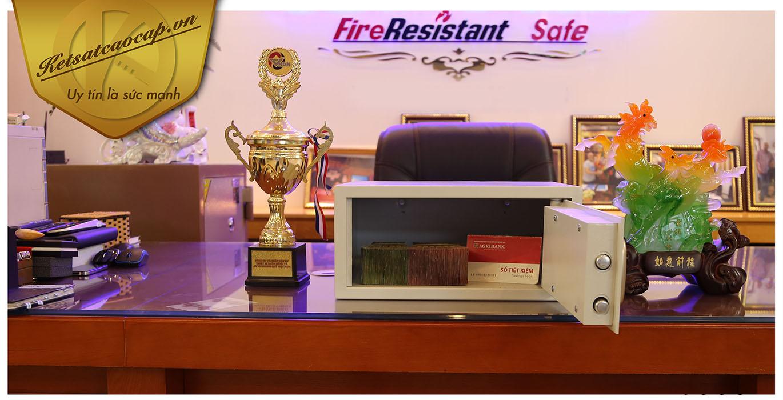 hình ảnh sản phẩm Két sắt khách sạn KS38-GOLD-PNT