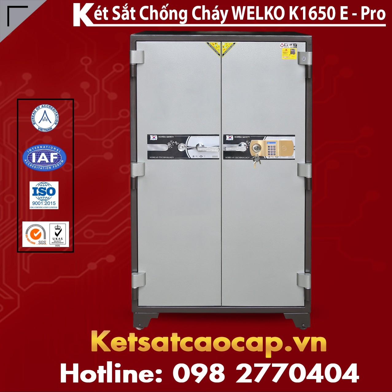 Két Sắt Chống Cháy Welko K1650 E - Pro
