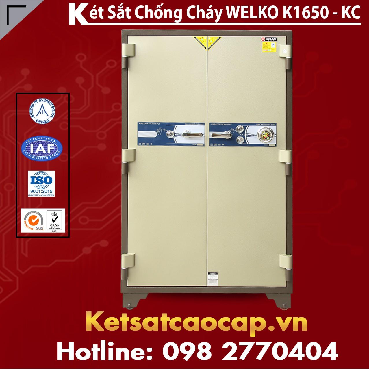 Két Sắt Chống Cháy Welko K1650 - KC