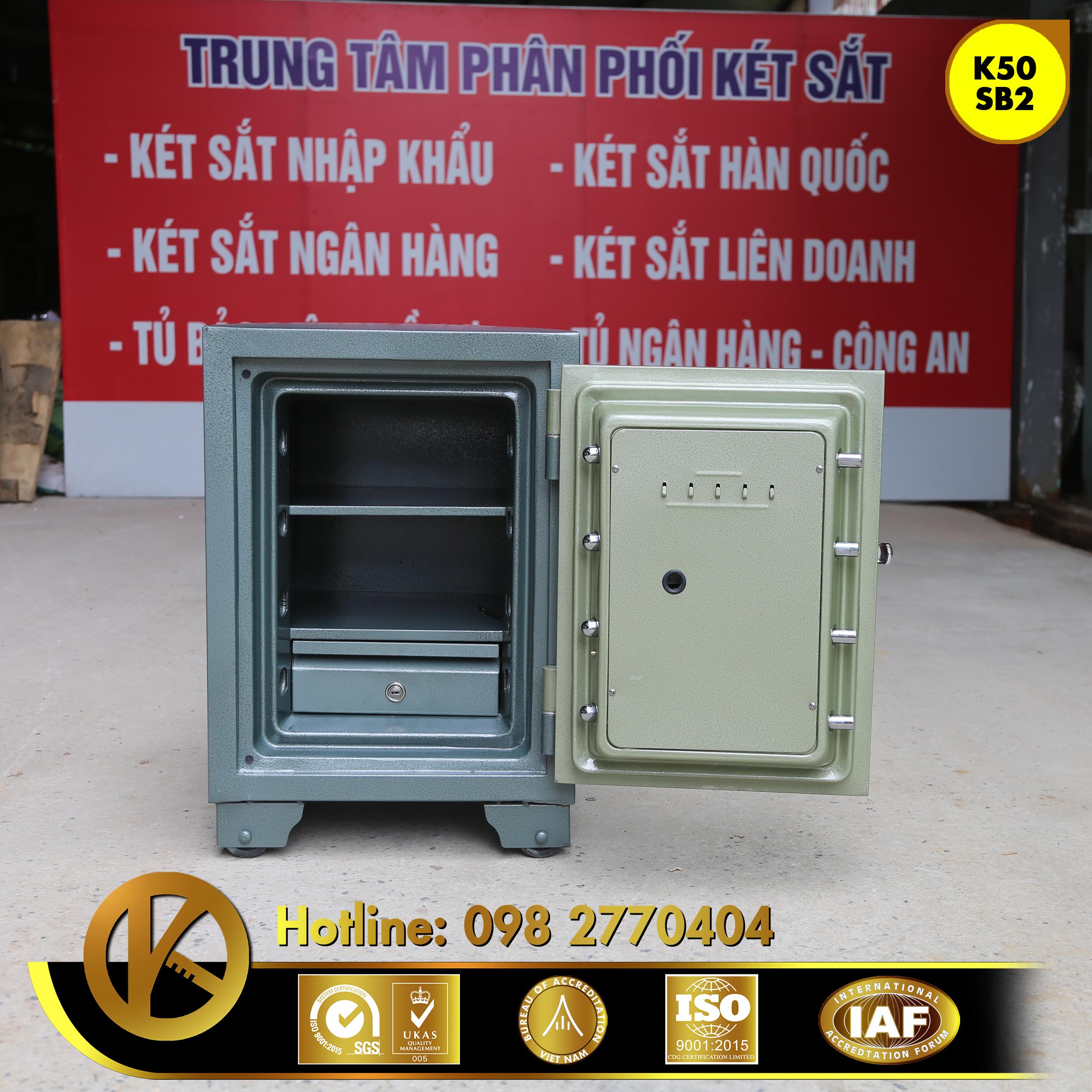 hình ảnh sản phẩm Két Sắt Ngân Hàng BEMC K50 SB2