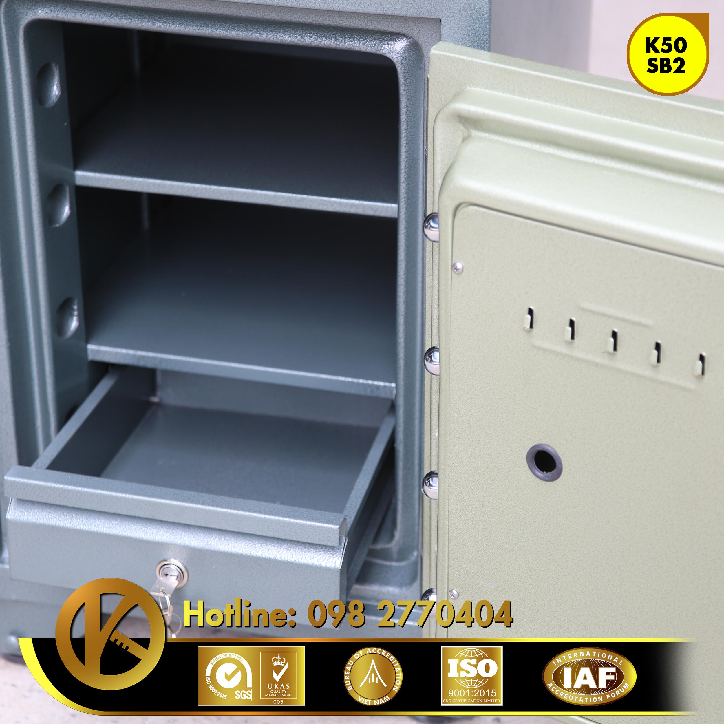 hình ảnh sản phẩm Két sắt ngân hàng K50SB2 khóa đổi mã
