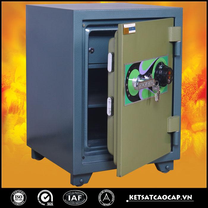 đặc điểm sản phẩm Két sắt ngân hàng K50SB2 khóa đổi mã