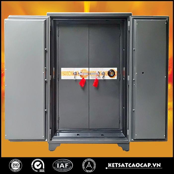 đặc điểm sản phẩm Két sắt ngân hàng K600 NHA1 khóa đổi mã