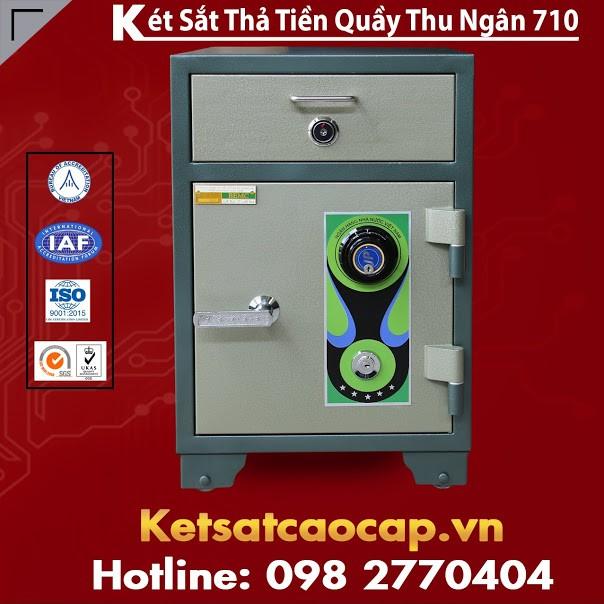 Két Sắt Thả Tiền Quầy Thu Ngân BEMC 710 Chính Hãng Uy Tín Tại Hà Nội