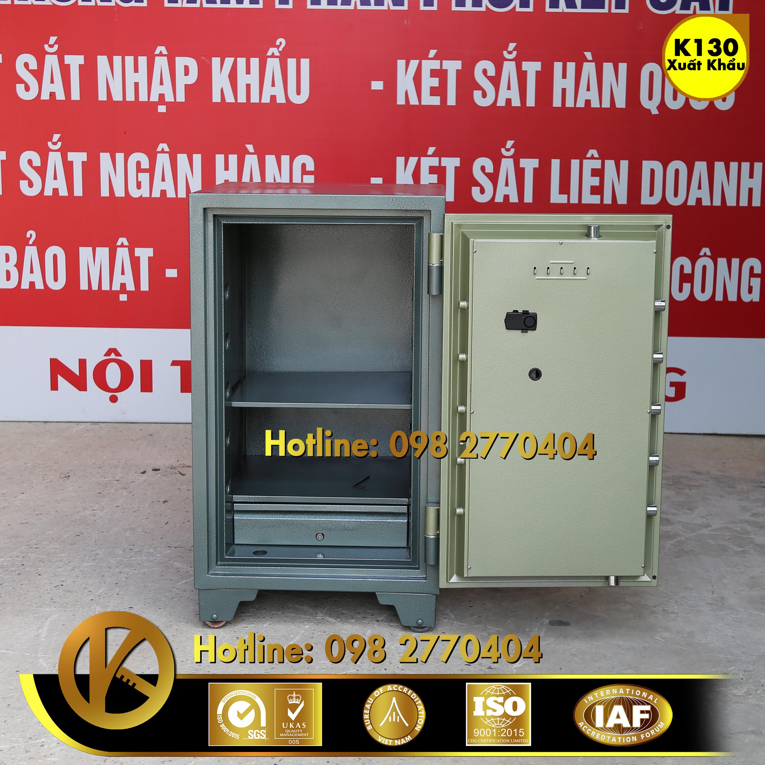 hình ảnh sản phẩm Két Sắt Ngân Hàng BEMC K130 Khoá Điện Tử