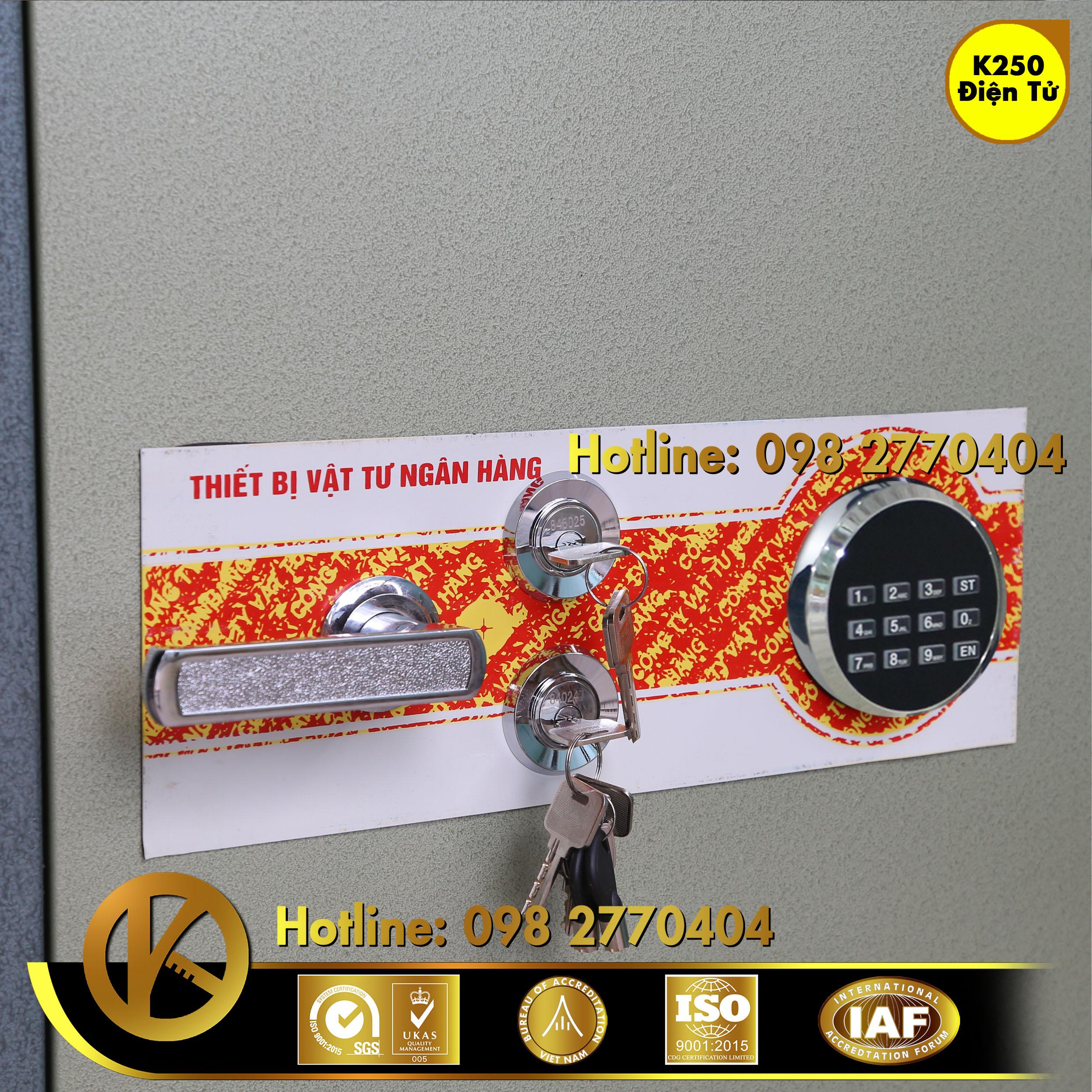 Két Sắt Ngân Hàng BEMC K250 Khoá Điện Tử
