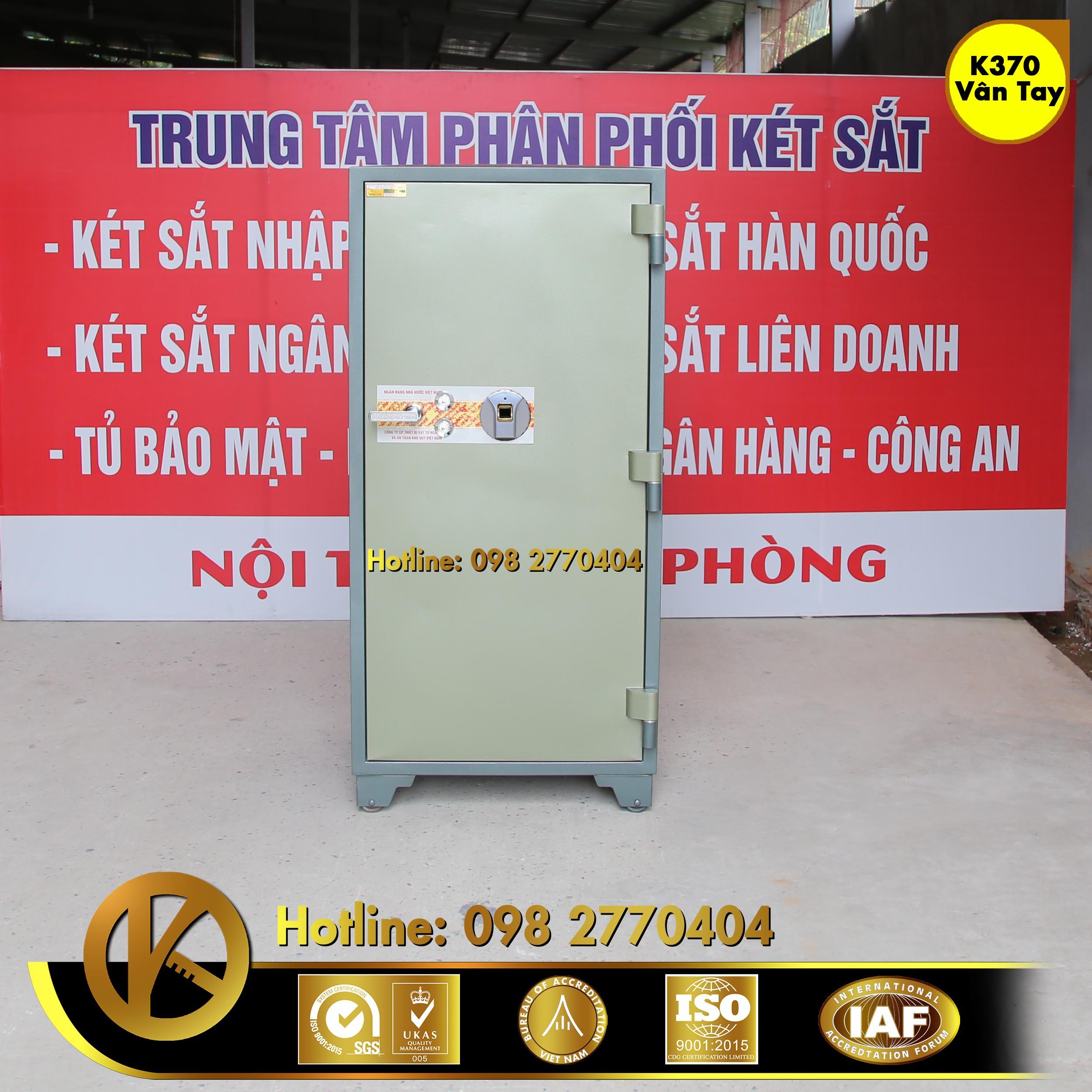 KÉT SẮT NGÂN HÀNG BEMC K370 KHOÁ VÂN TAY
