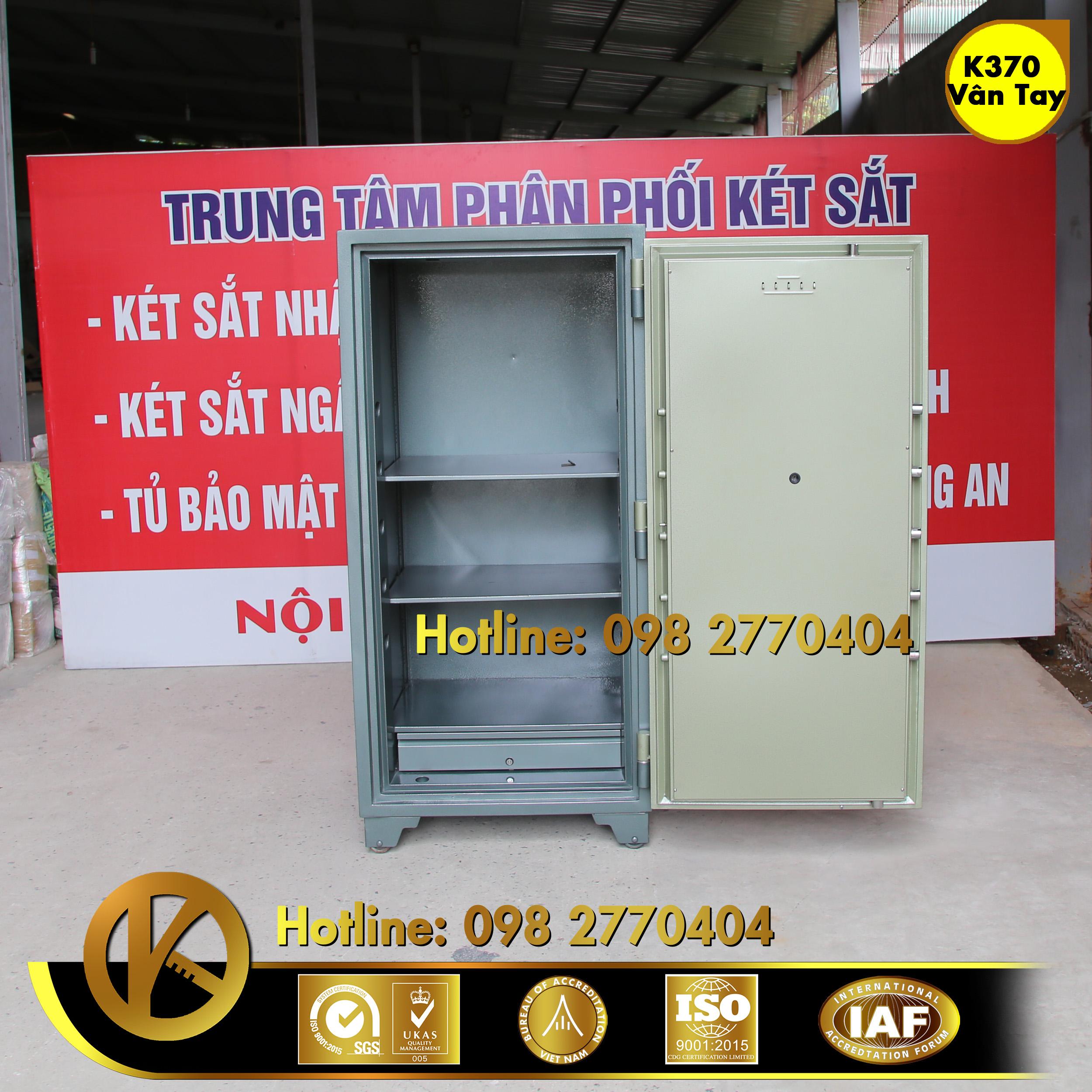 đặc điểm sản phẩm KÉT SẮT NGÂN HÀNG BEMC K370 KHOÁ VÂN TAY