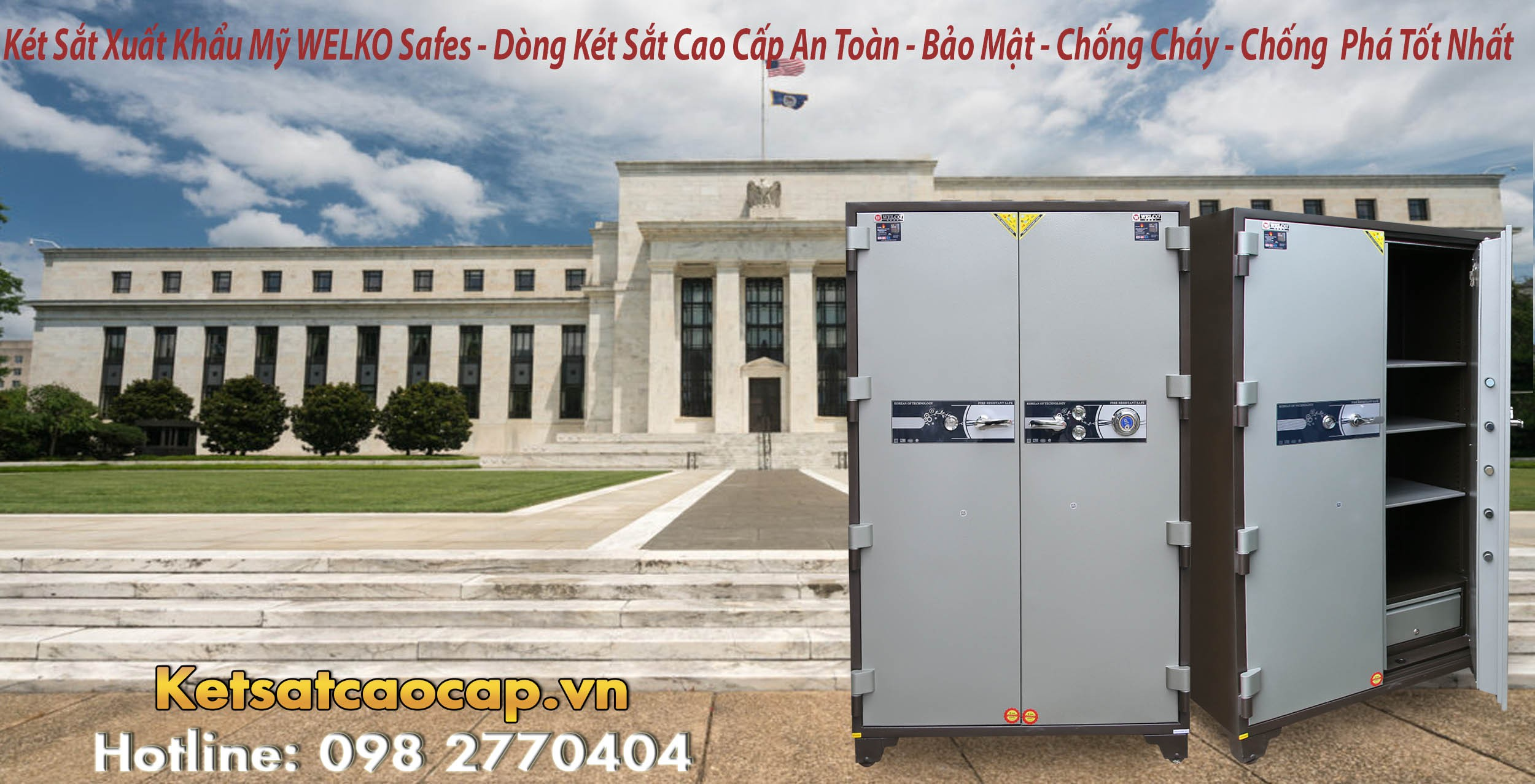 Nơi bán két sắt đựng hồ sơ