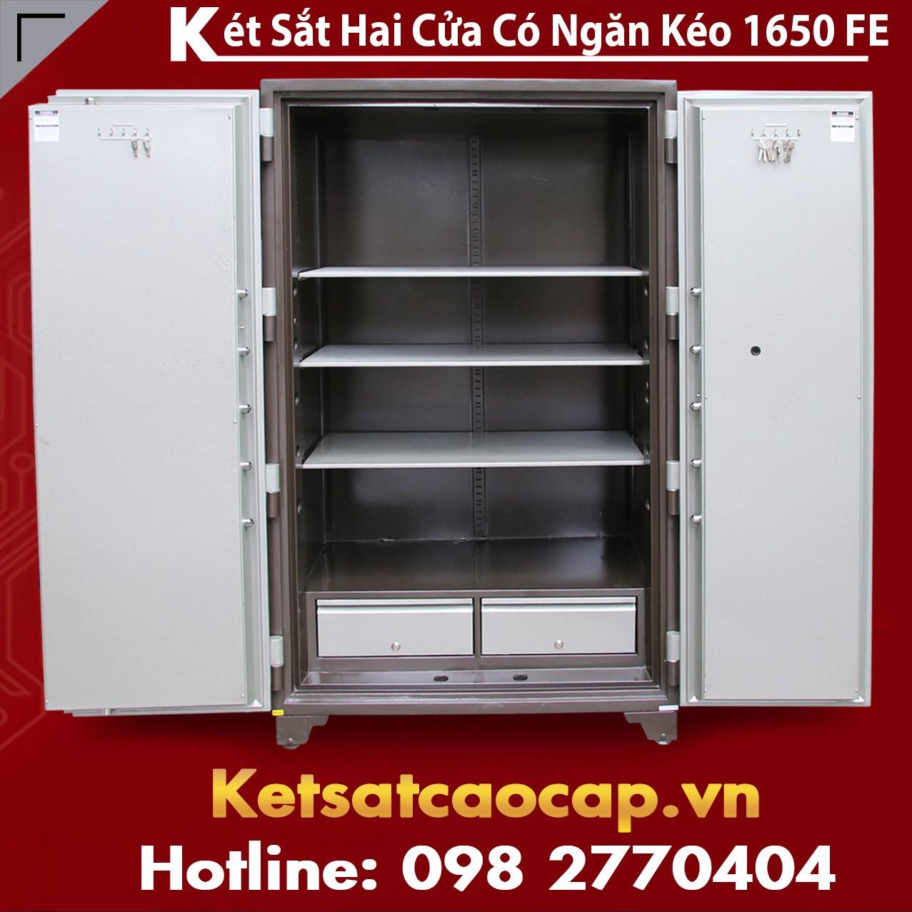 Két Sắt Đựng Hồ Sơ Có Ngăn Kéo 1650E