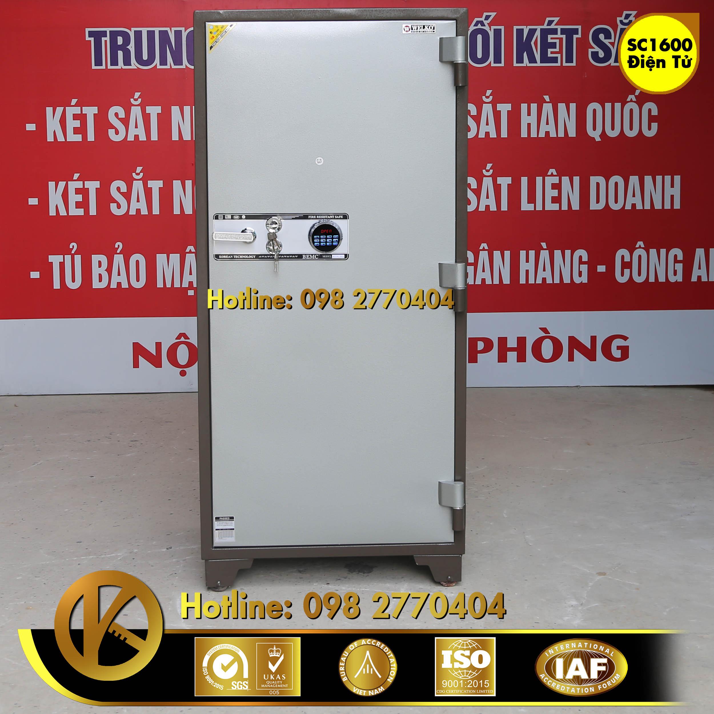 Két Sắt Ngân Hàng BEMC SC1600 điện tử
