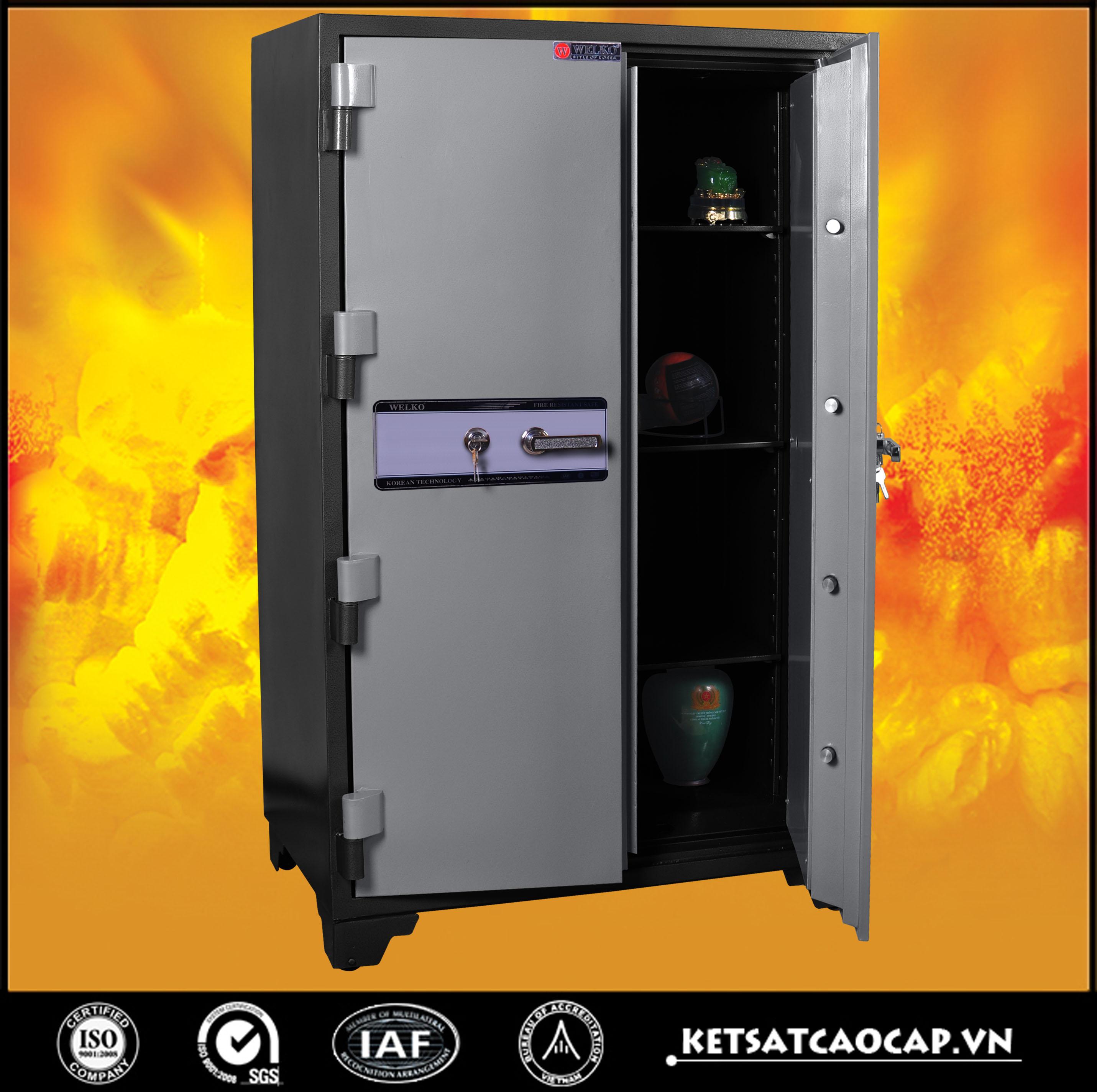 hình ảnh sản phẩm Két Bạc chống cháy BM1650 điện tử