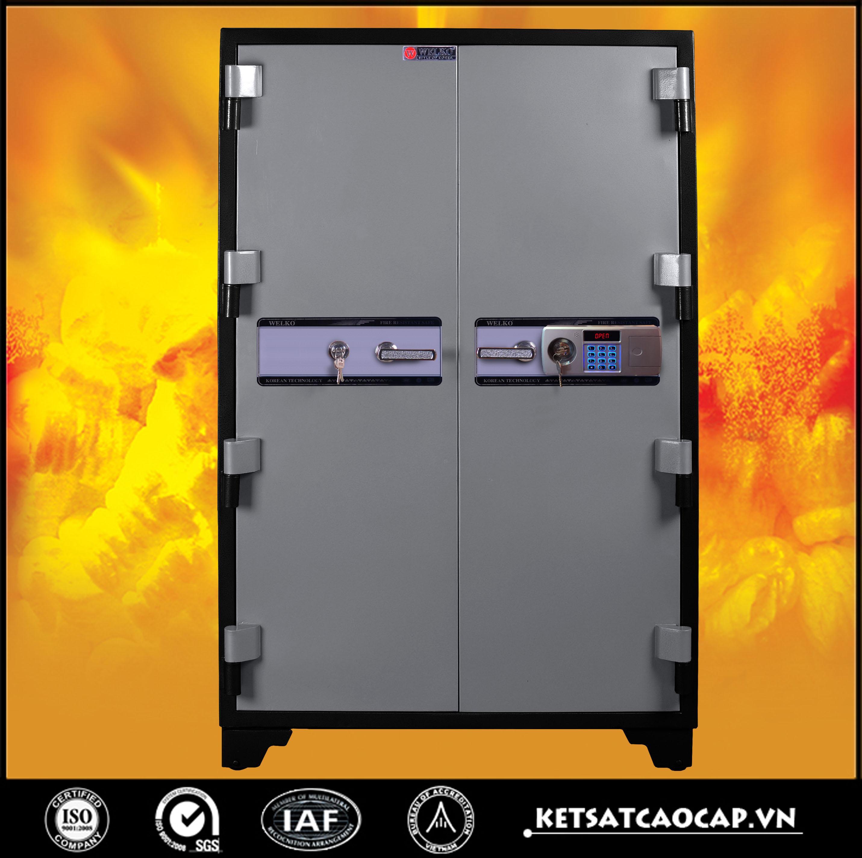 Két Bạc chống cháy BM1650 điện tử