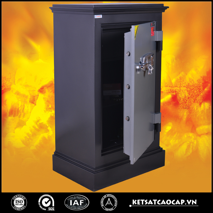 đặc điểm sản phẩm két sắt an toàn Kn240 Đen DT