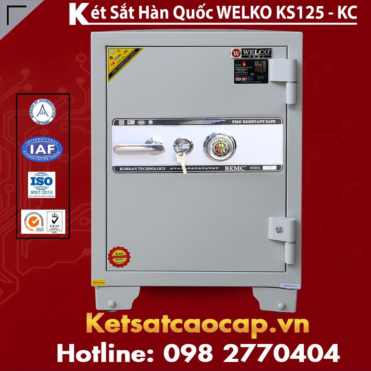 Két Sắt Văn Phòng Welko KS125 - KC White