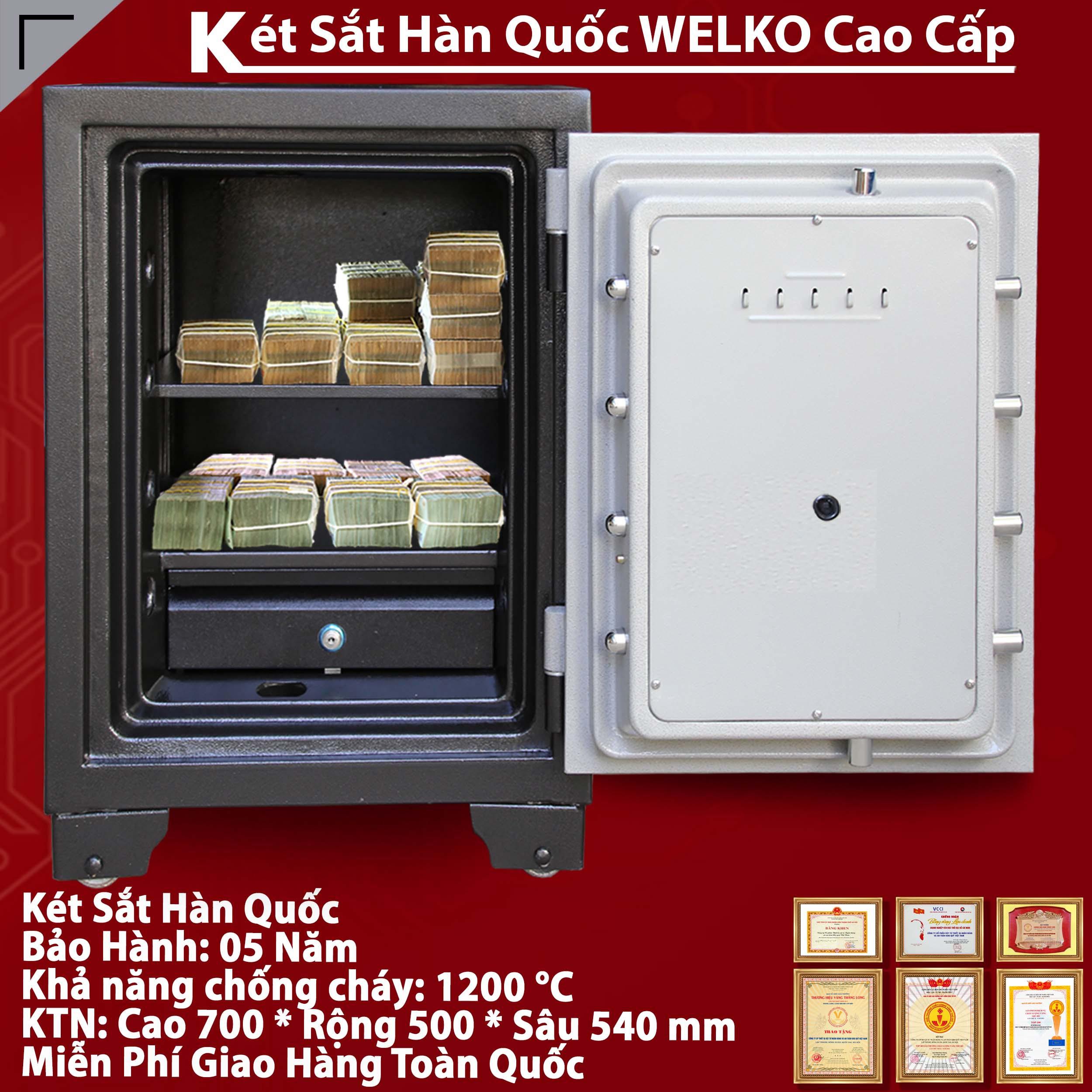 Két Sắt Văn Phòng S700 - E Gold