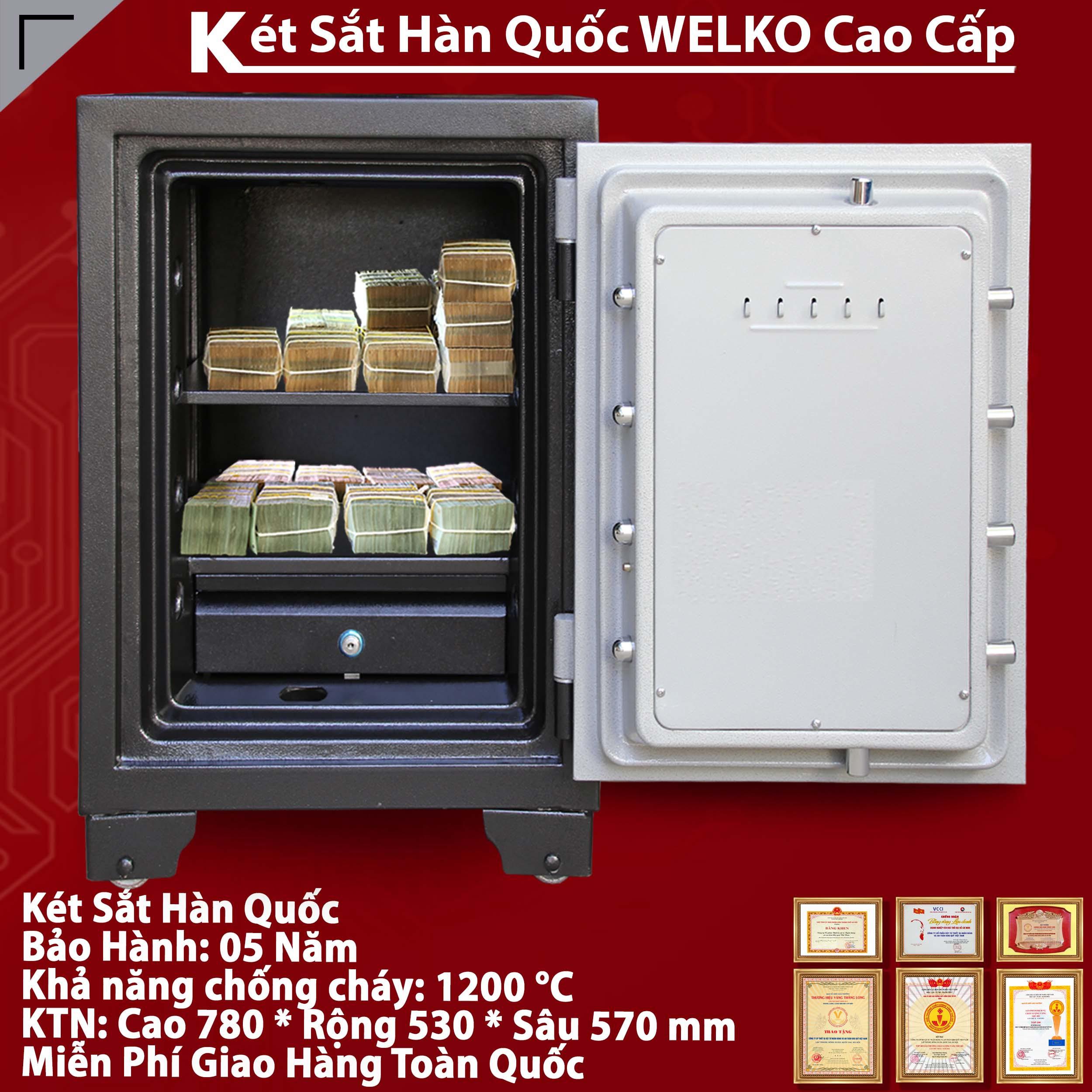 Két Sắt Văn Phòng S780 - KC