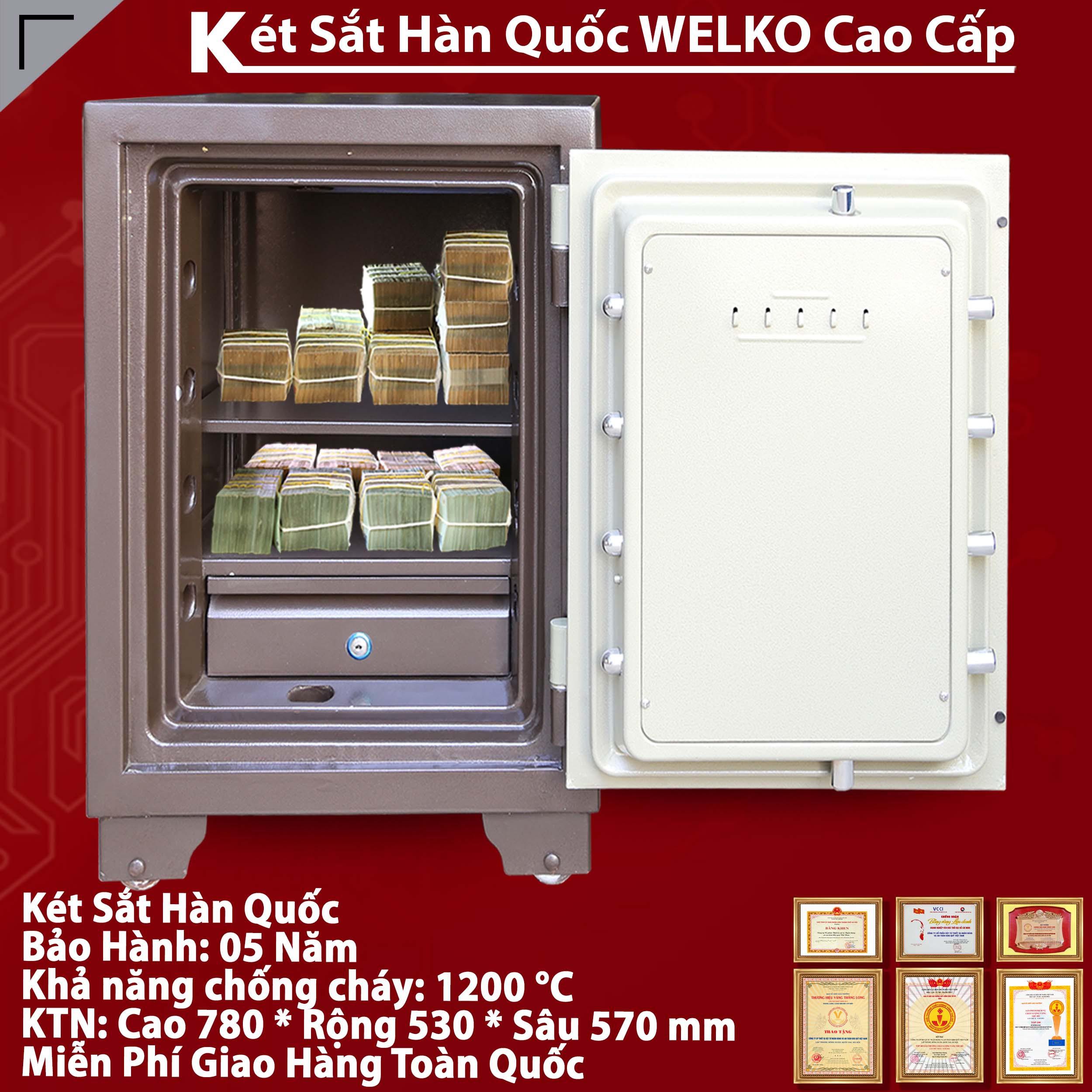 cửa hàng bán Két sắt cá nhân welkosafe chất lượng ở hà nội