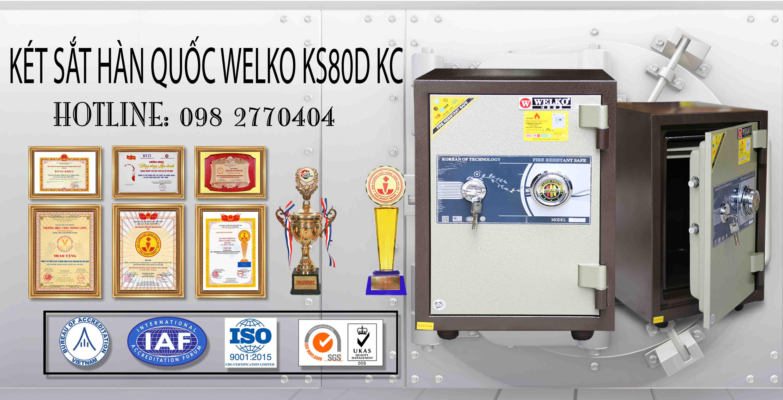 Két Sắt Văn Phòng KS80D - KC