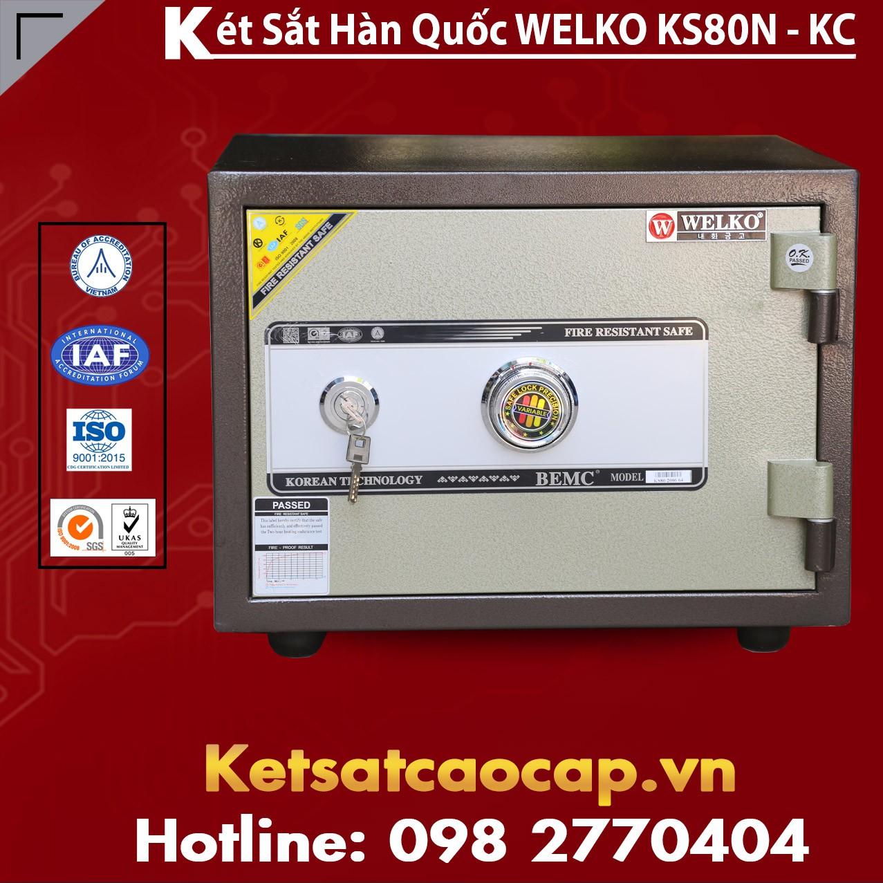 Két Sắt Văn Phòng KS80N - KC Bronw