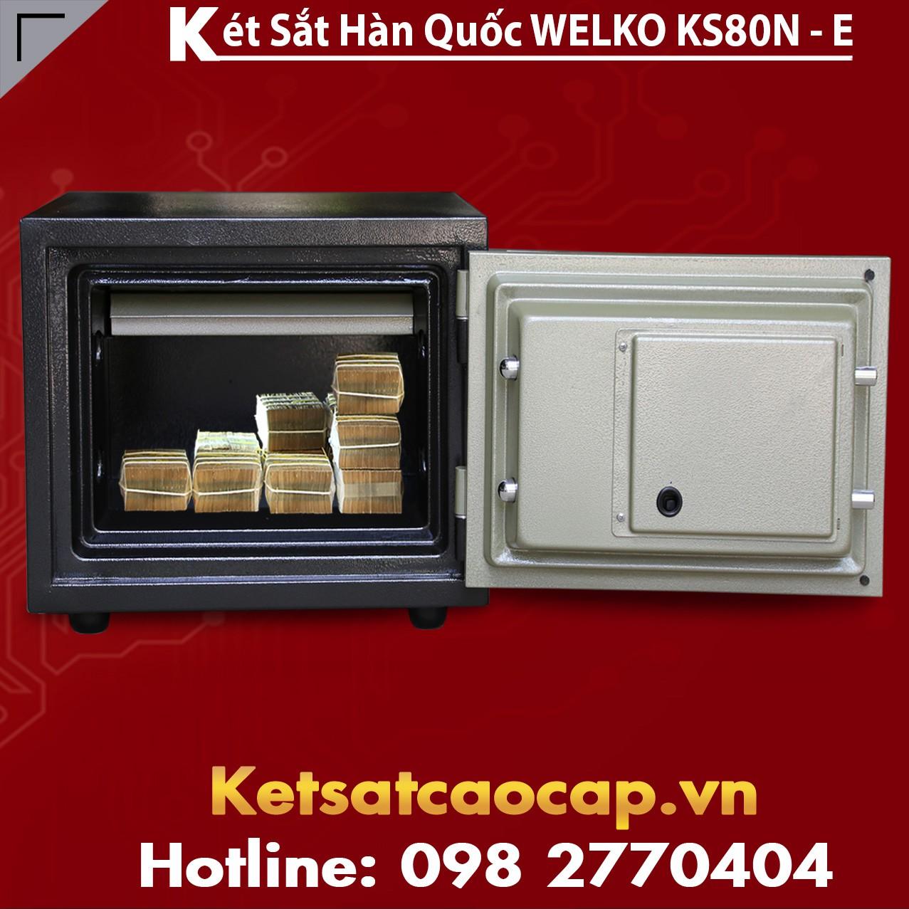 Két Sắt Văn Phòng KS80N - E Gold