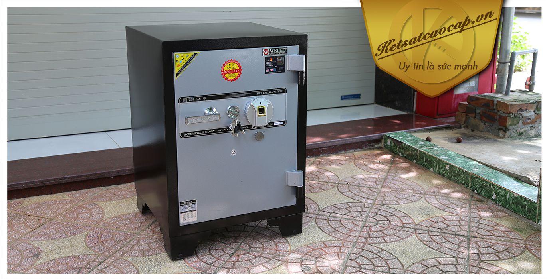 hình ảnh sản phẩm Két sắt văn phòng KS160Brown-Series Fingerprint