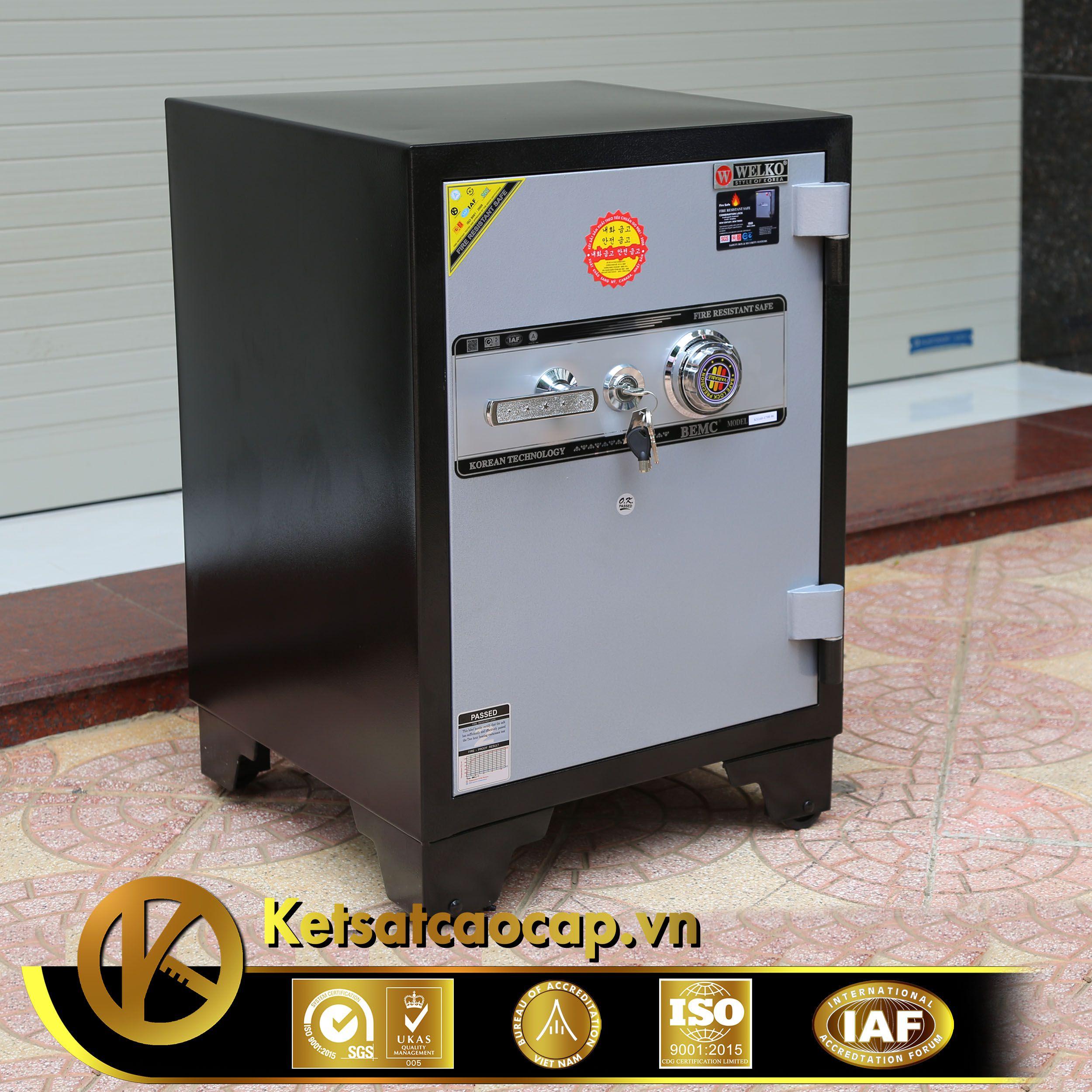 đặc điểm sản phẩm Két sắt văn phòng cao cấp KS160B-Series Khóa cơ