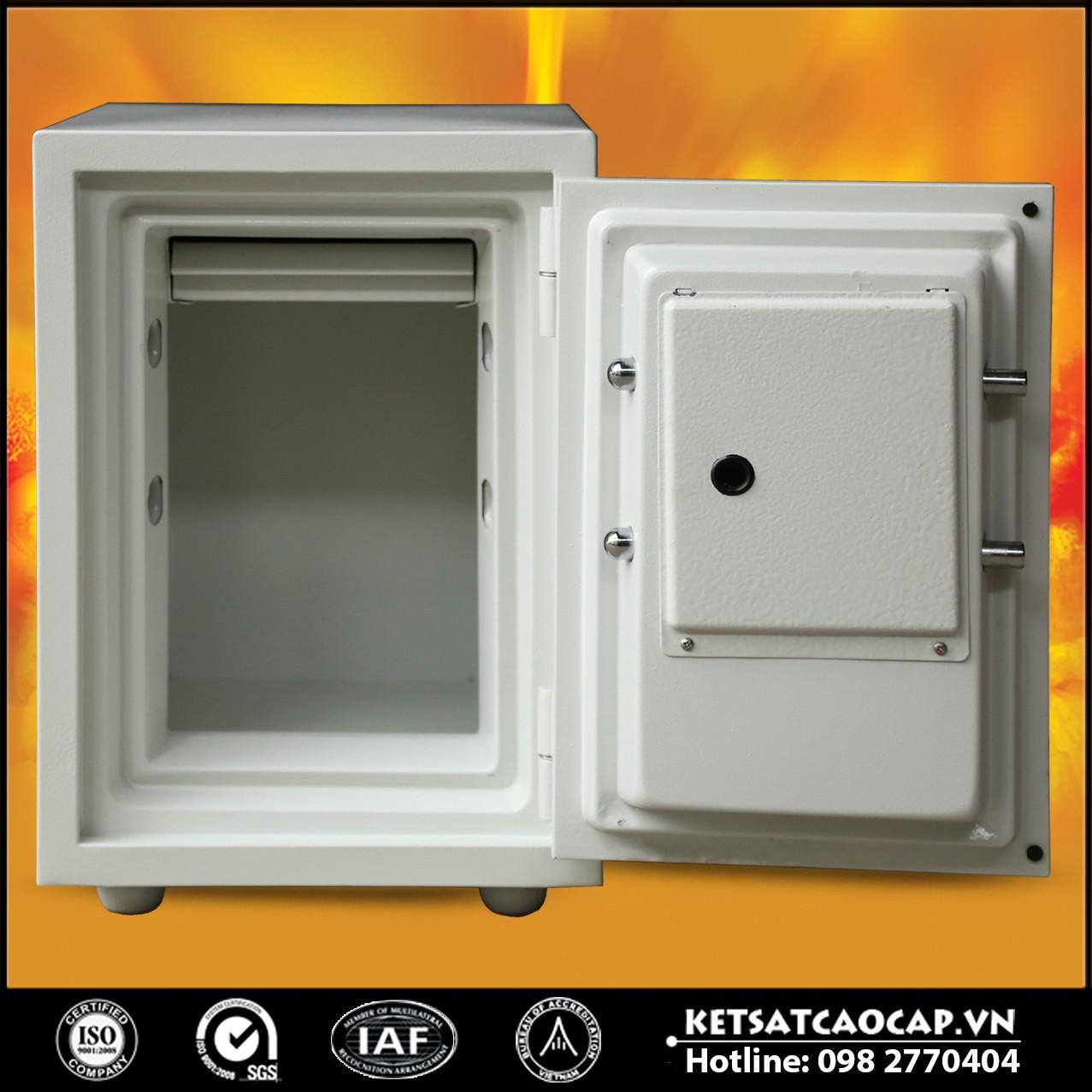 Két Sắt Vân Tay KS80D - White FE