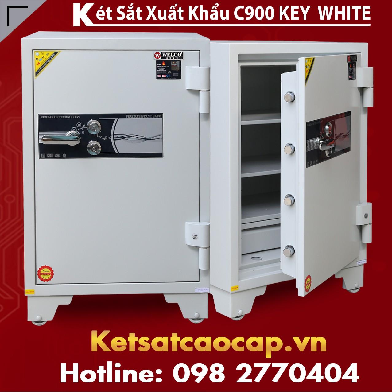 Két Sắt Xuất Khẩu C900 Key White