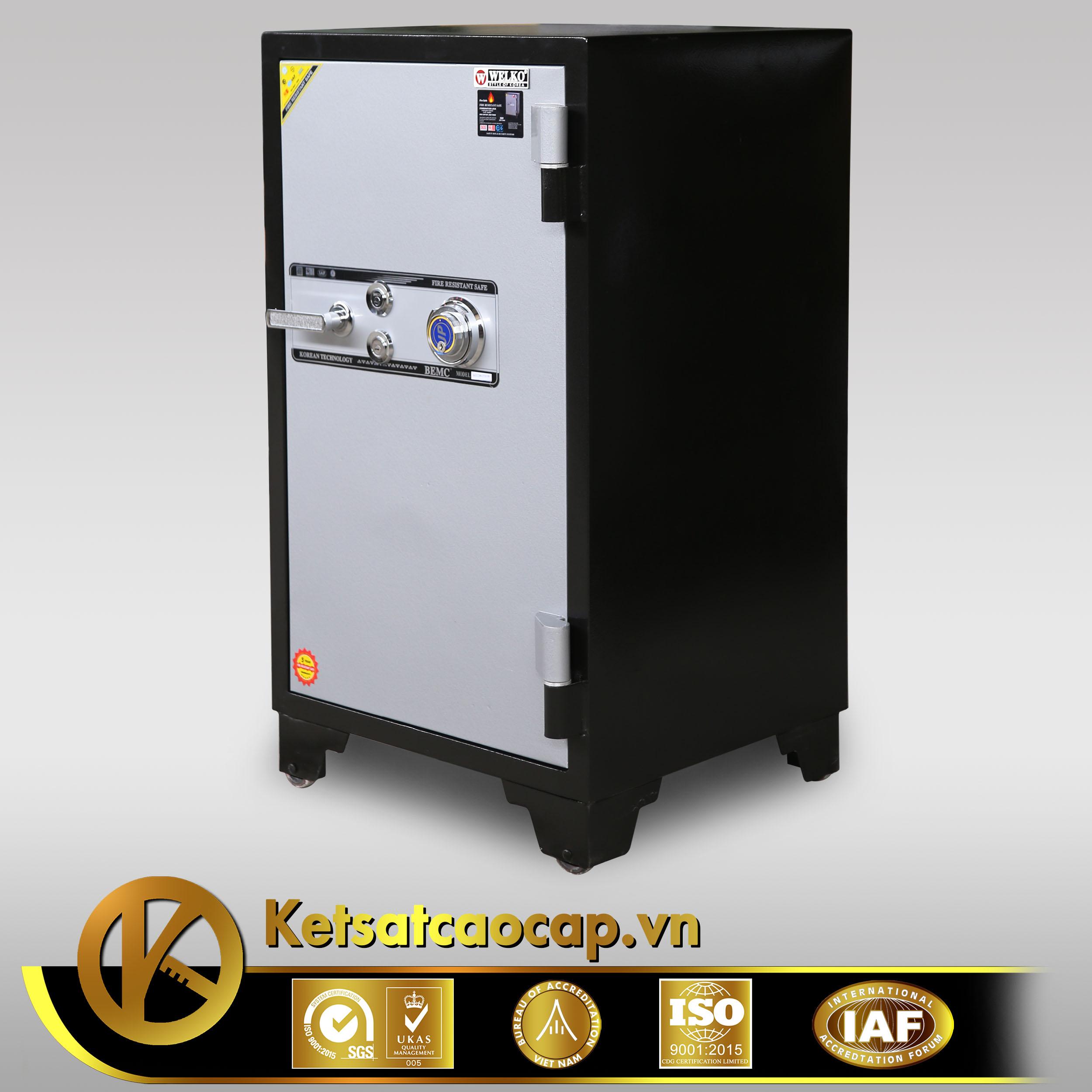 hình ảnh sản phẩm Két sắt Welko KS1070 DK khóa  điện tử Đổi Mã