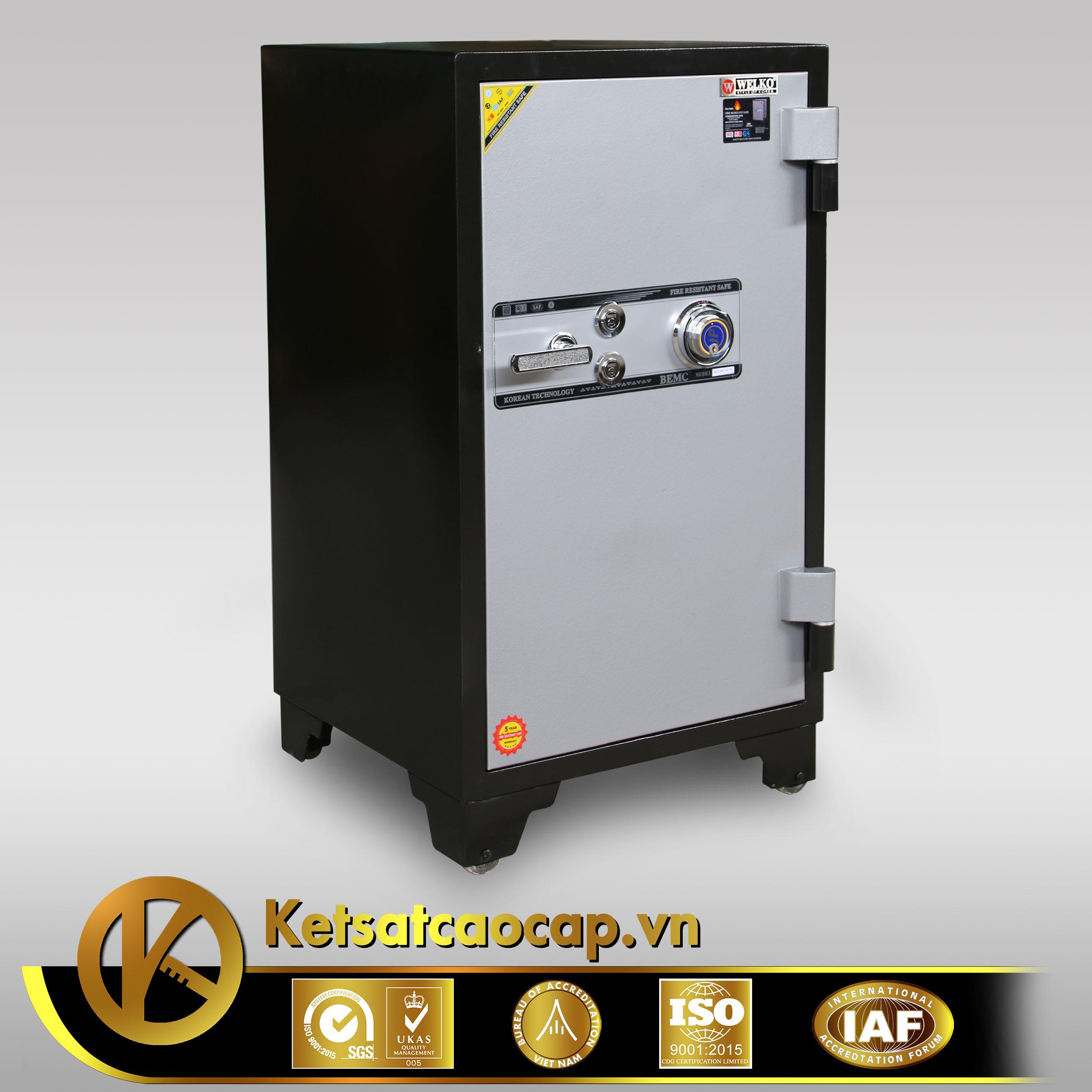 đặc điểm sản phẩm Két sắt Welko KS1070 DK khóa  điện tử Đổi Mã