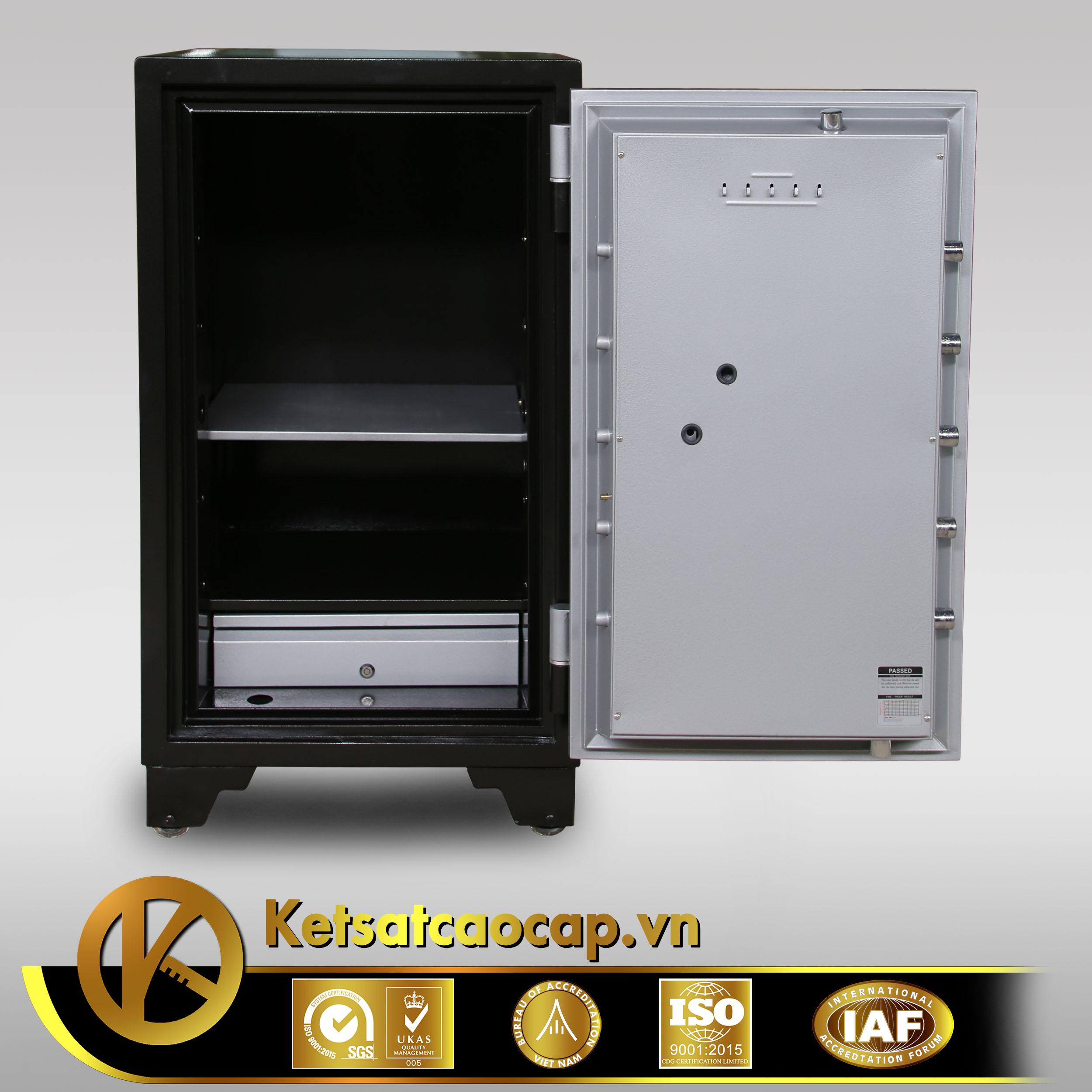 đặc điểm sản phẩm Két sắt Welko KS1070 HQ khóa điện tử
