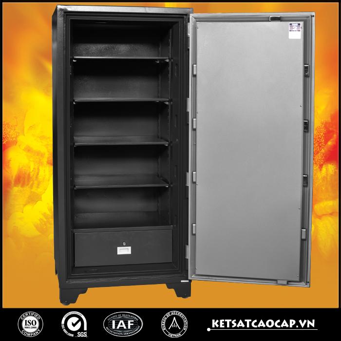 đặc điểm sản phẩm Két Sắt chống cháy 1400 điện tử