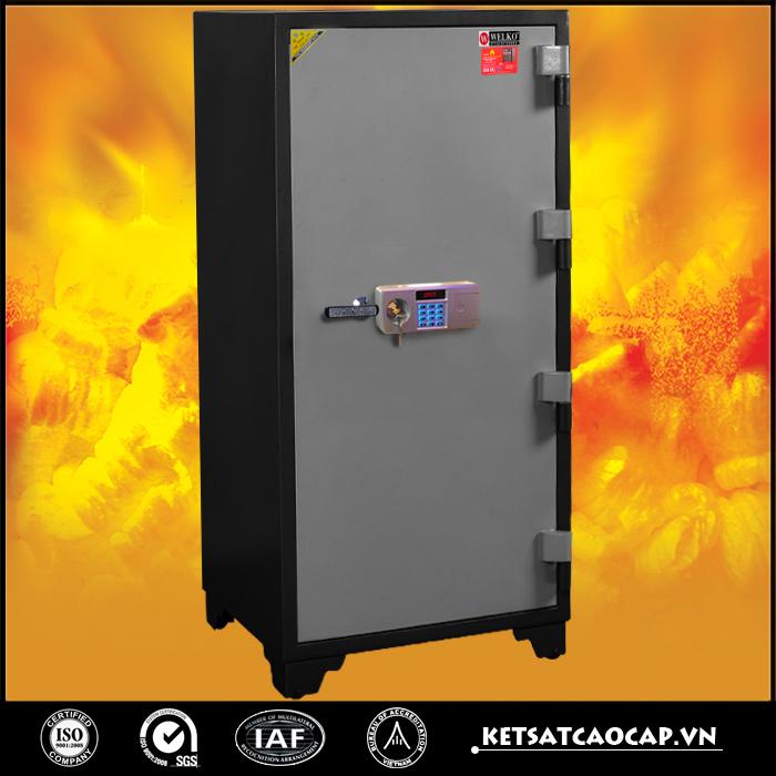 Két Sắt chống cháy 1400 điện tử